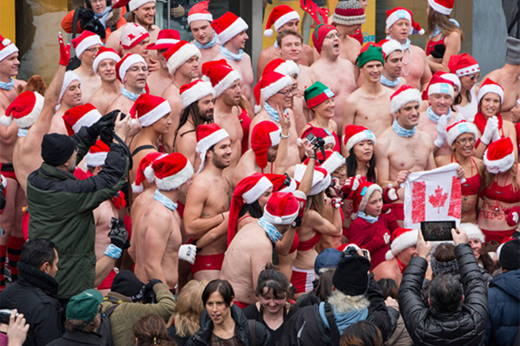 Santa Speedo Run Toronto