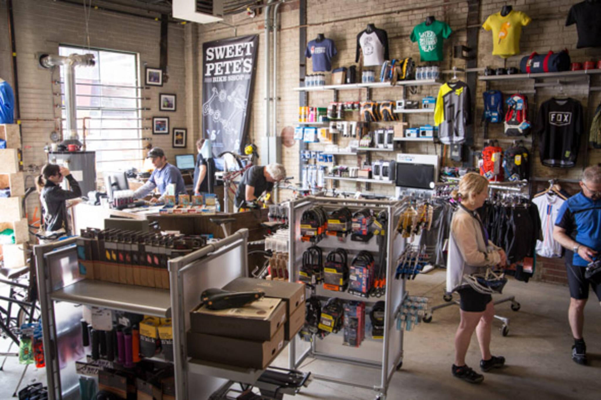 Sweet Petes Bike Shop Brick Works