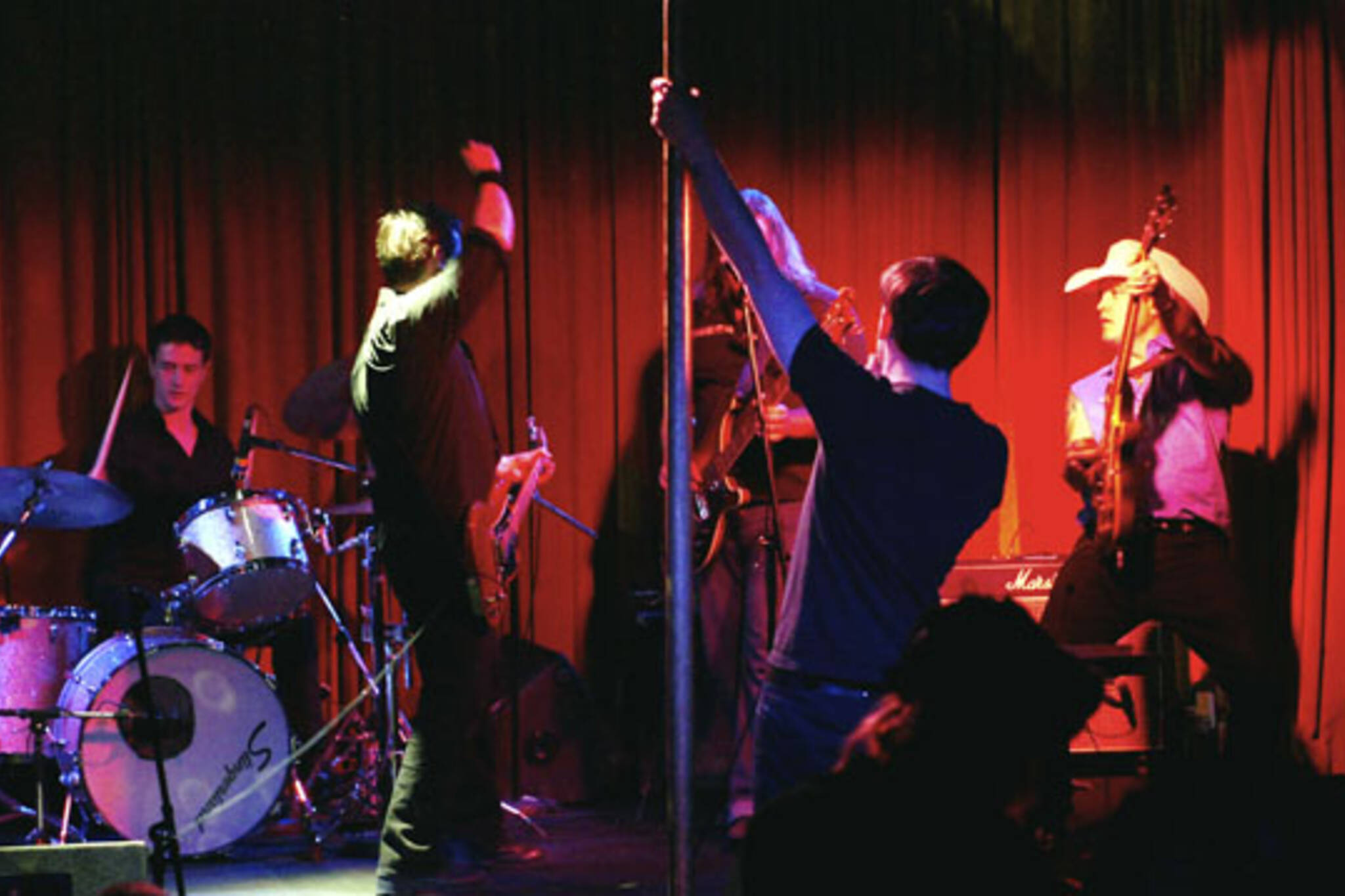 Live Band Karaoke meets pole dancing demonstrations at The Drake Underground in Toronto