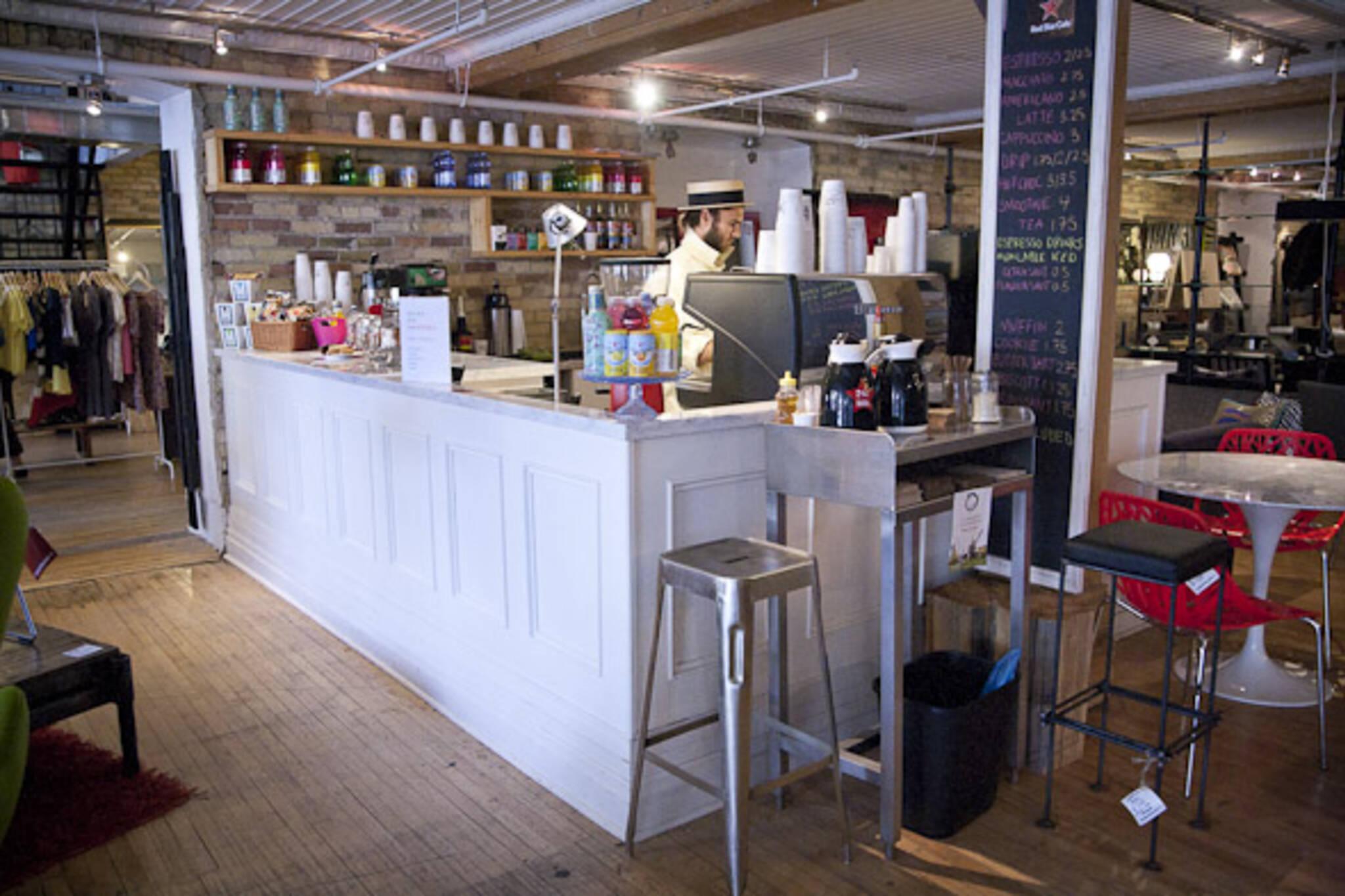 burroughes Cafe