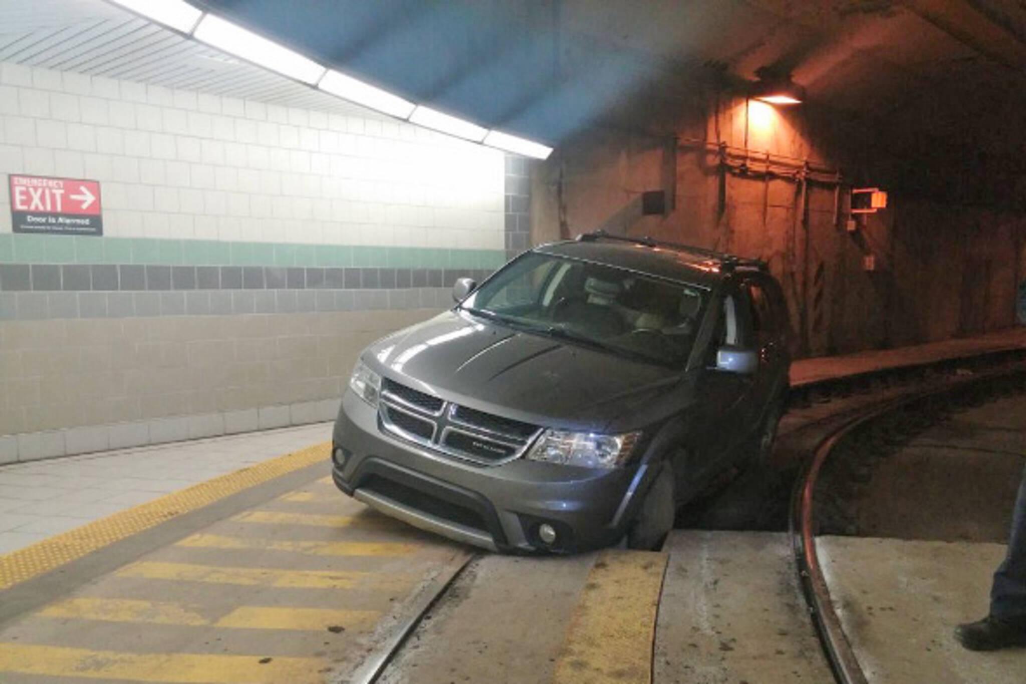 car streetcar tunnel