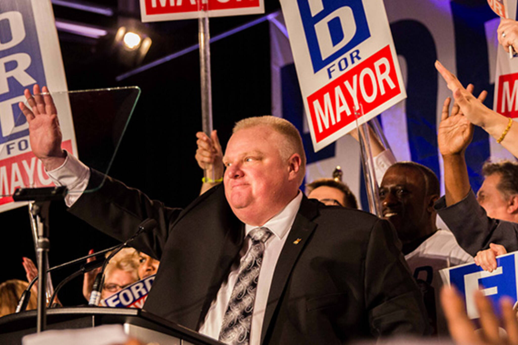 rob ford poll