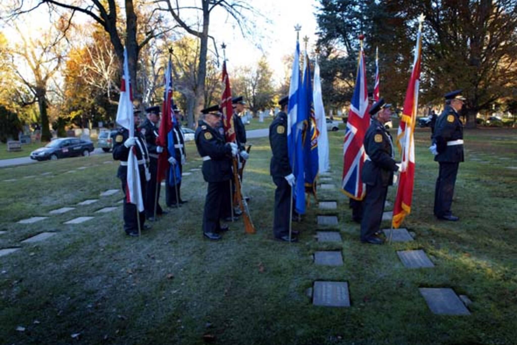 Remembrance Day Toronto 2013