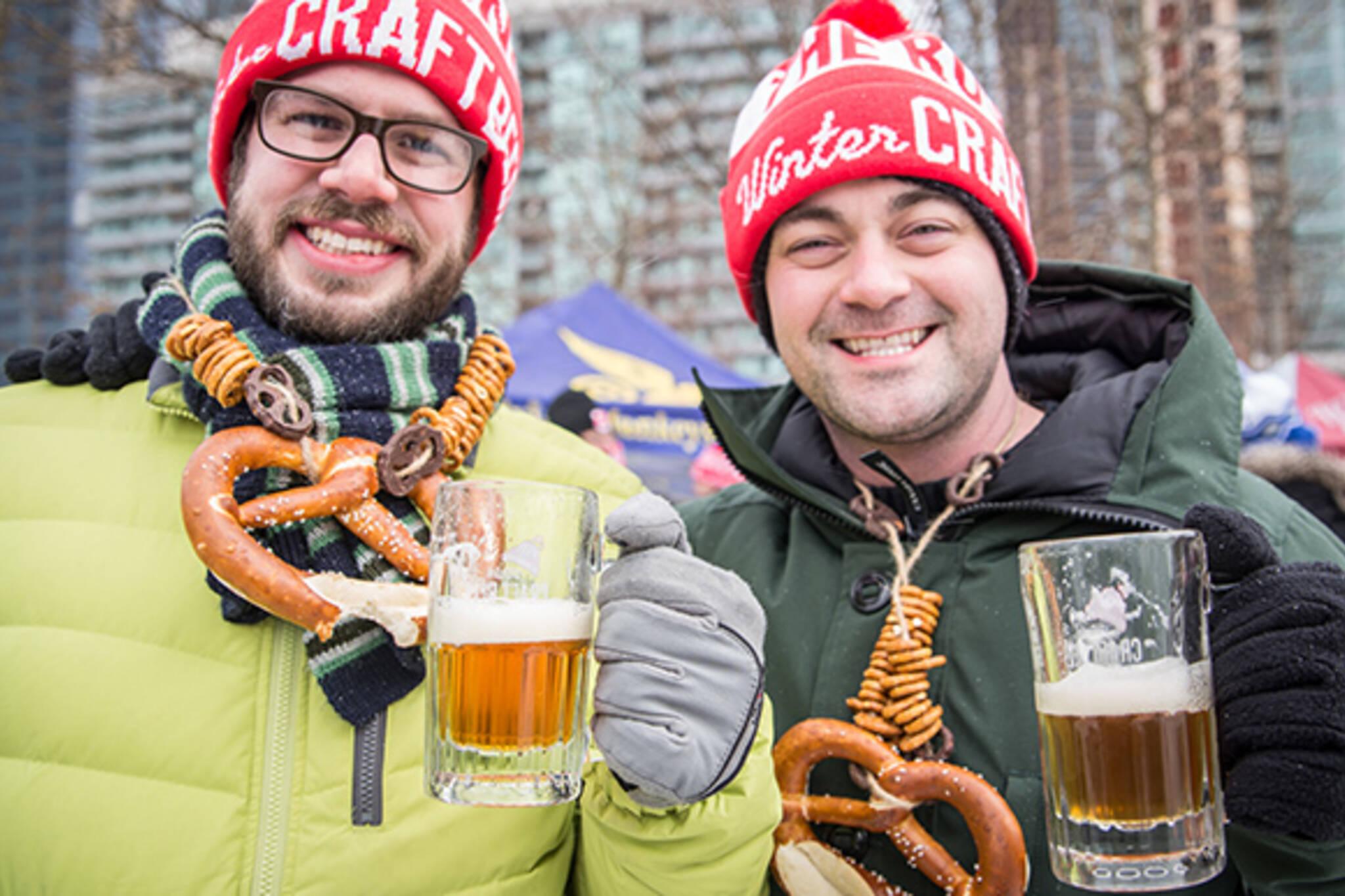 winter beer events toronto