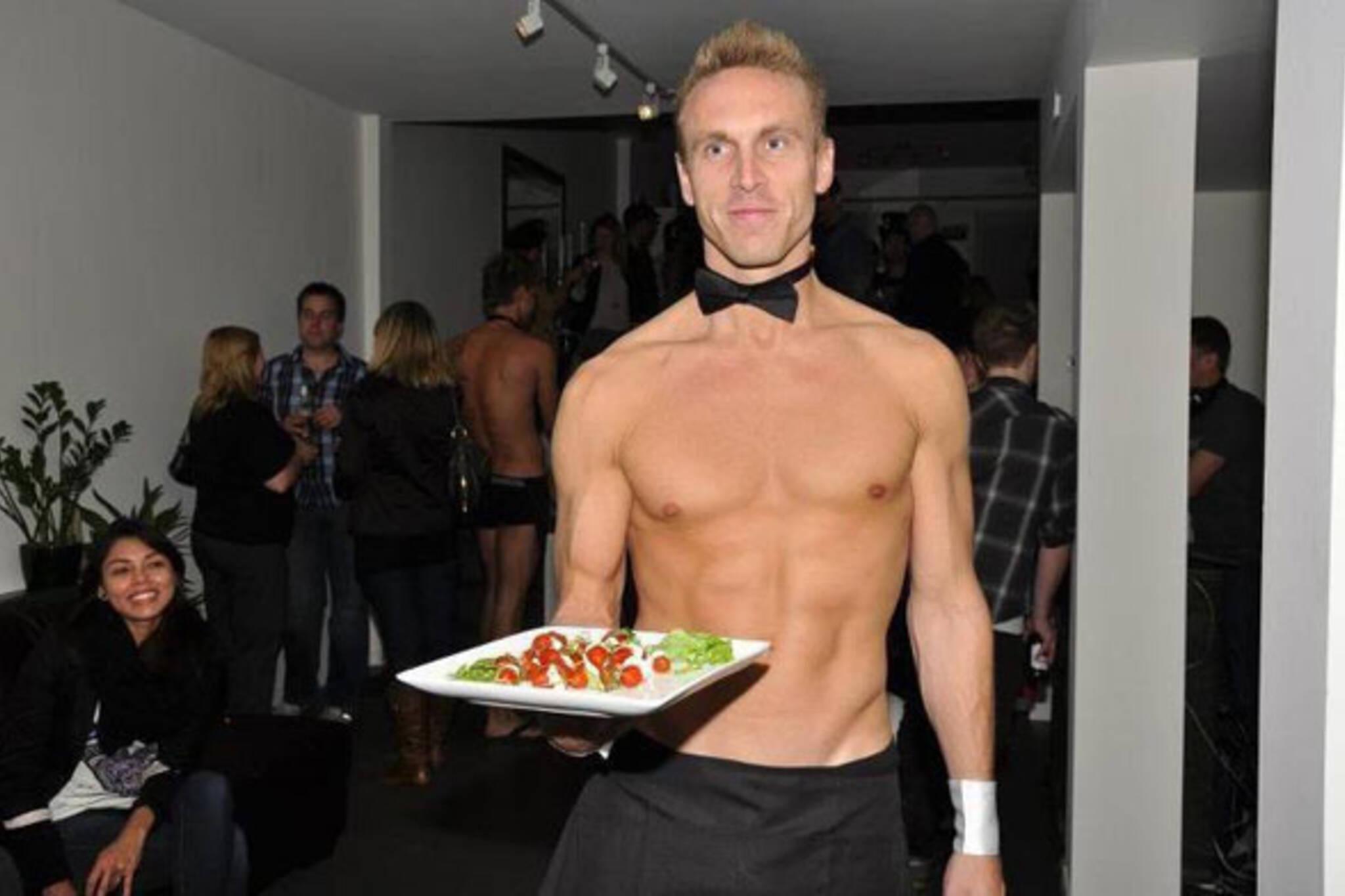topless waiter toronto
