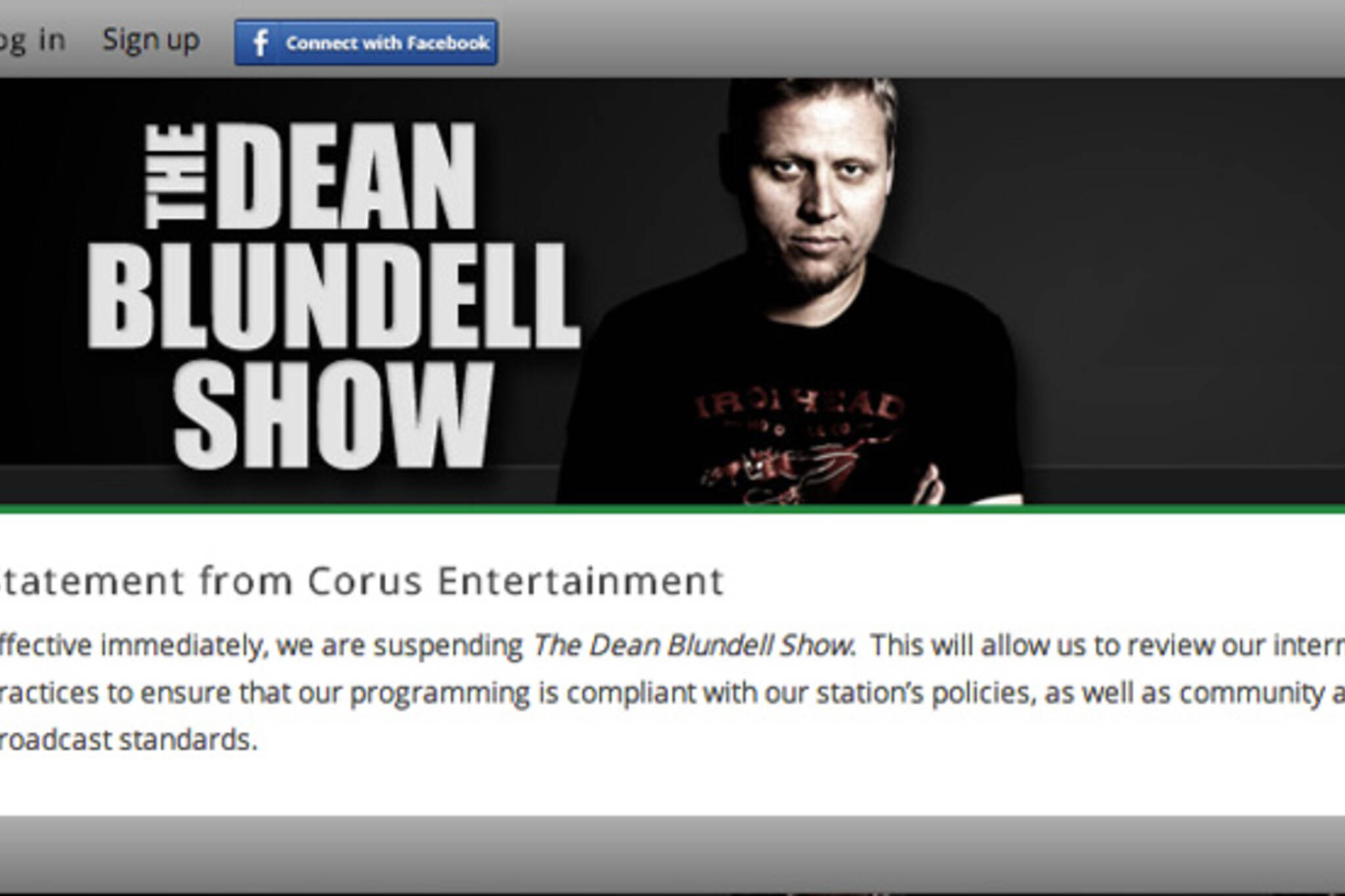 Dean Blundell Show