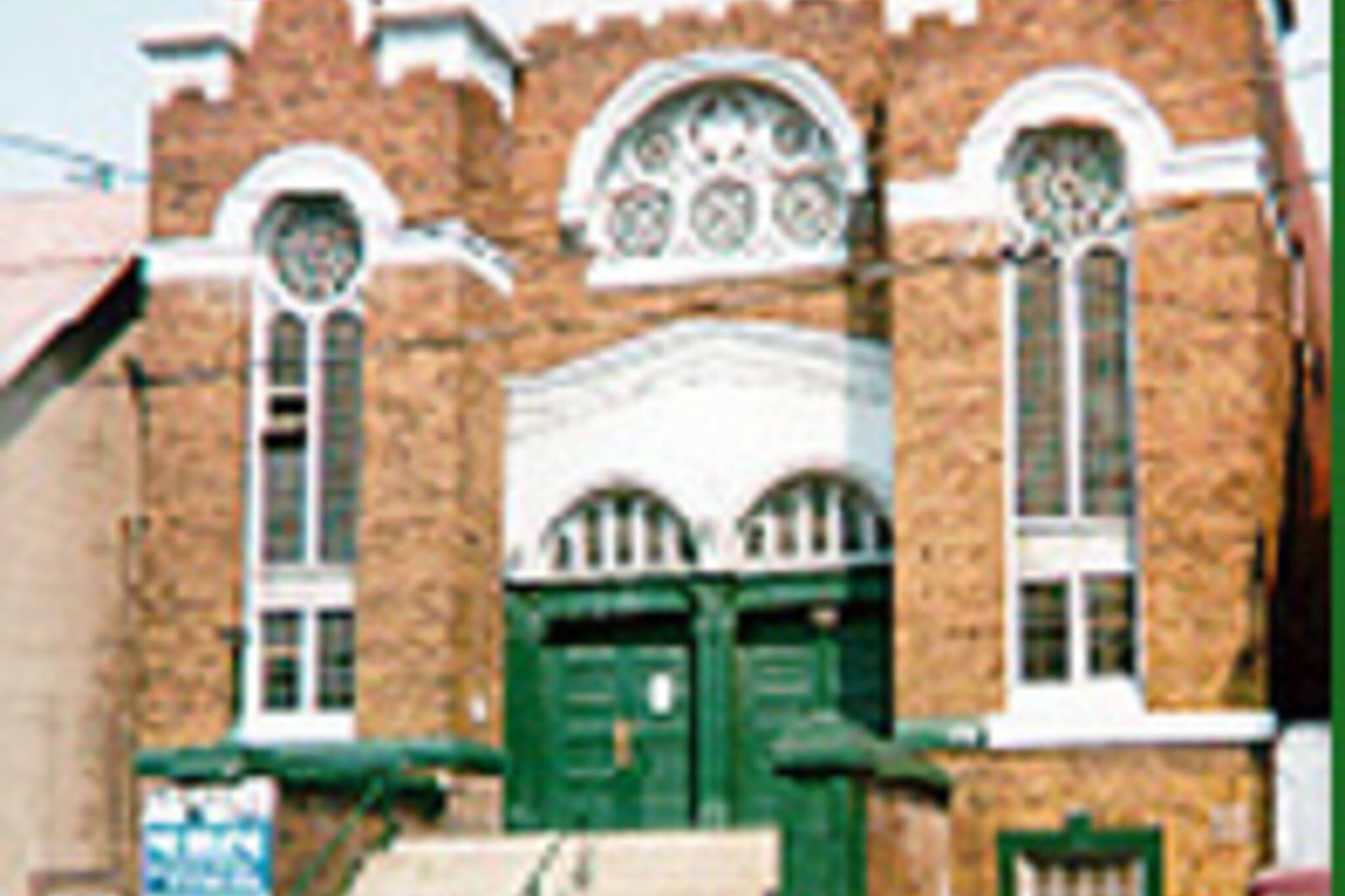 Kensington Market's historic Anshei Minsk shul.  Image from www.openair.org