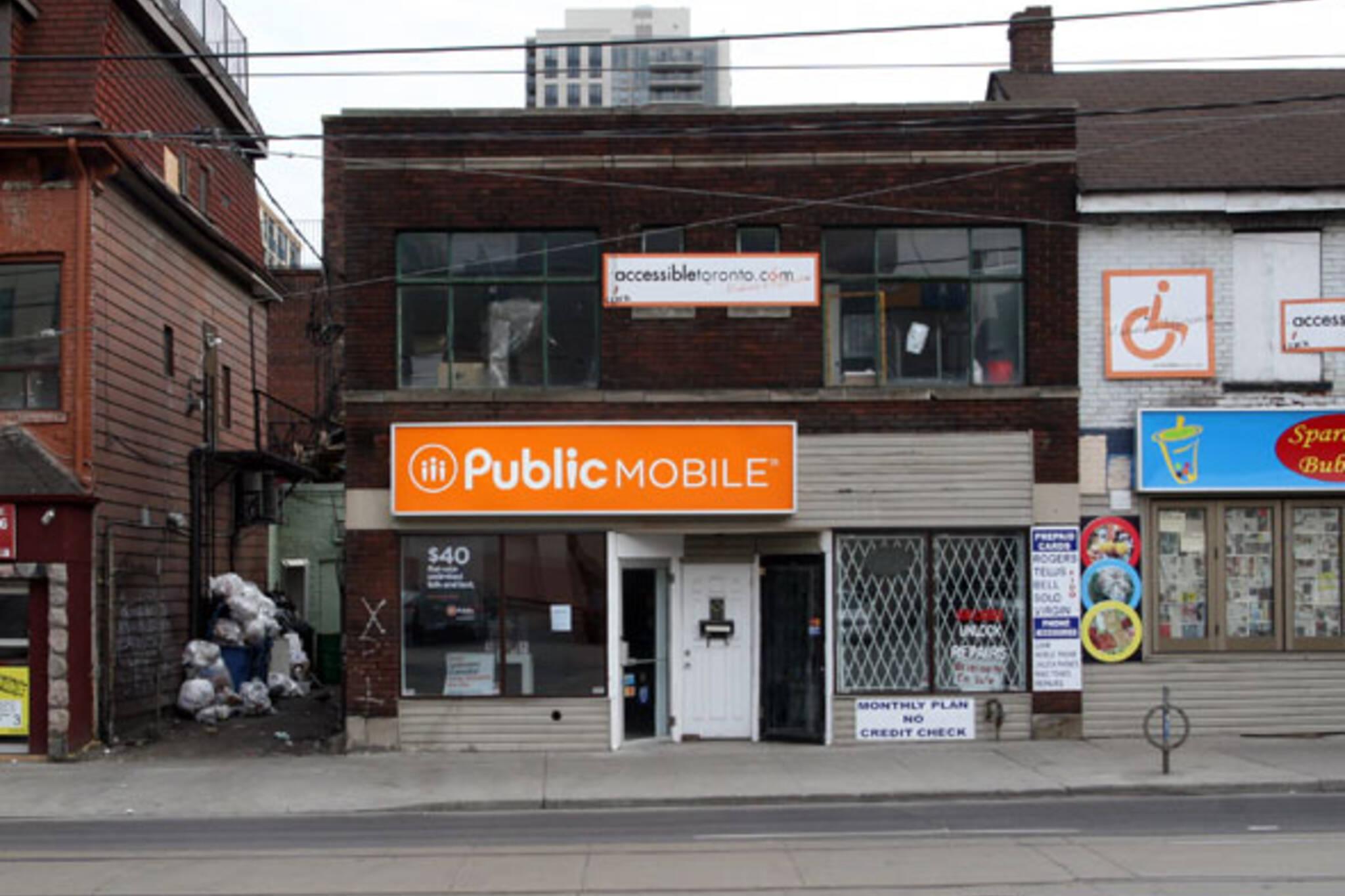 Public Mobile Wireless
