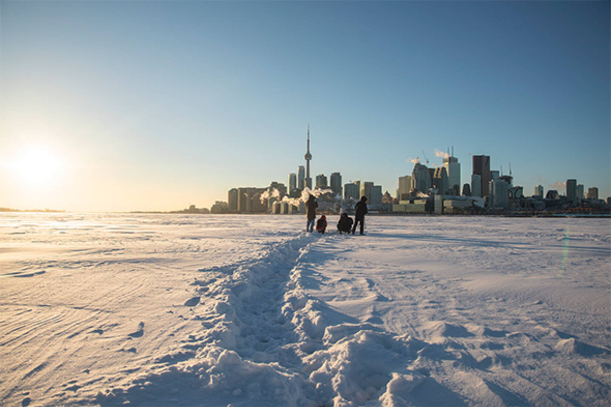 frozen harbour toronto