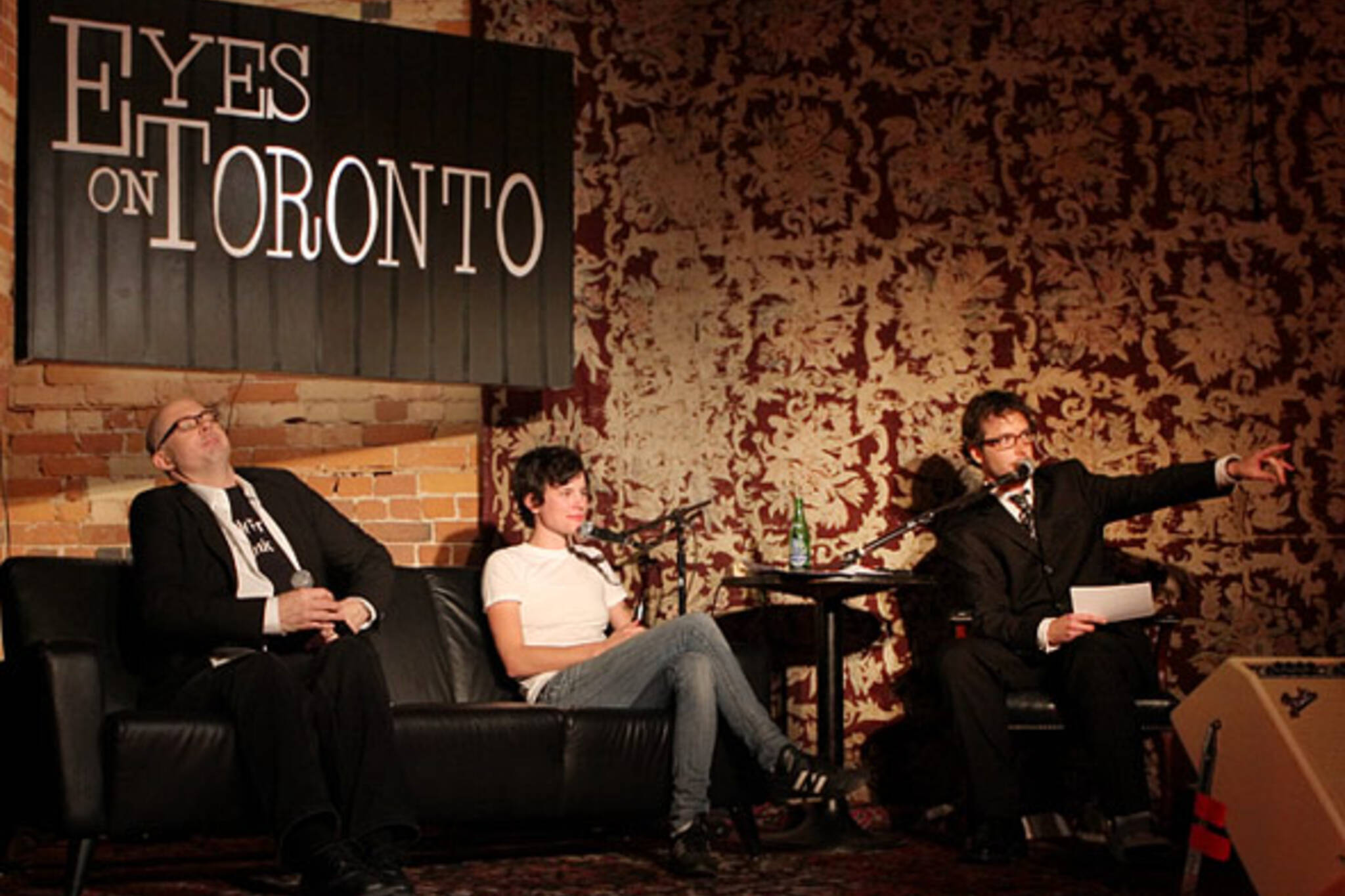 Eyes on Toronto at the Gladstone Hotel feat Gentleman Reg, Katie Sketch, Maggie MacDonald and Terry Clement