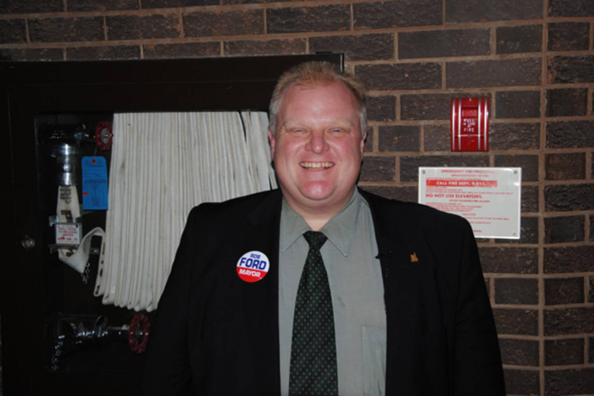 Rob Ford mayor