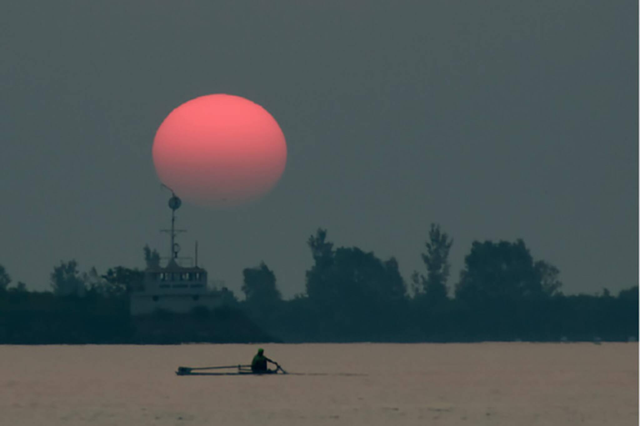 Toronto sunset harbour