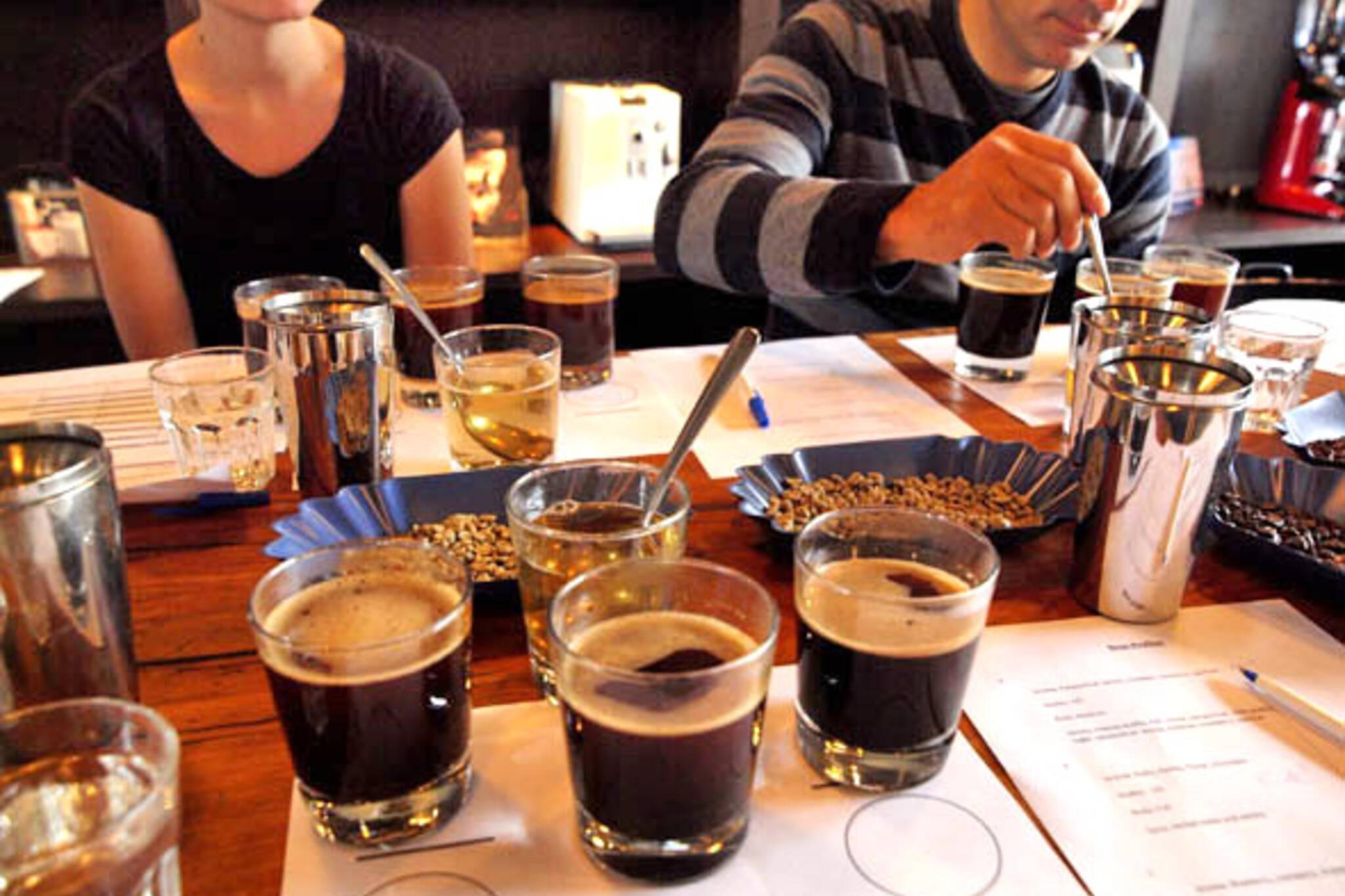 Coffee Tasting at Te Aro