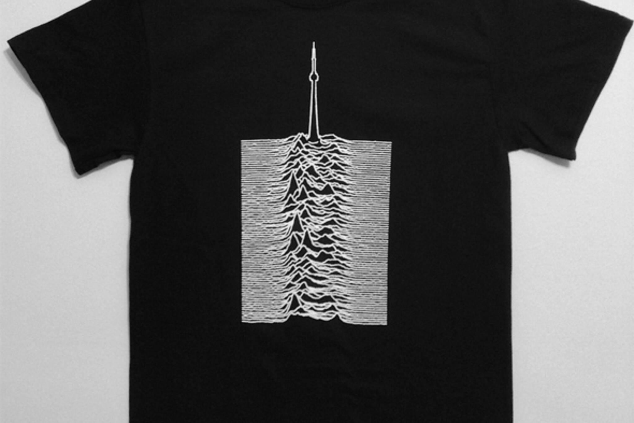 joy division cn tower shirt