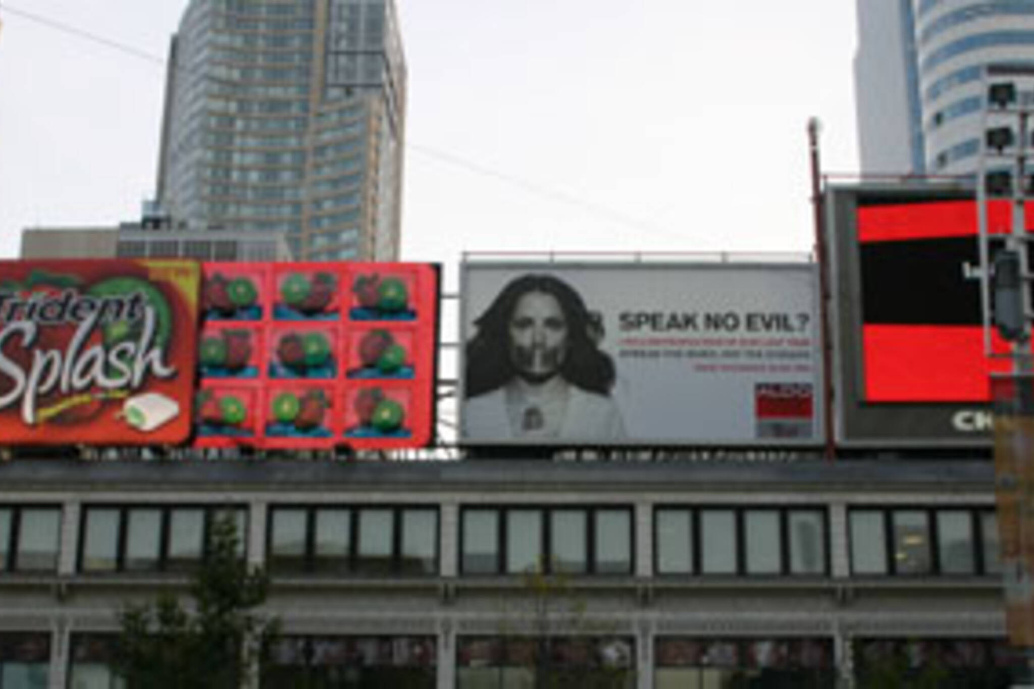 Billboards, billboards everywhere - are they the solution to Toronto's budget crunch?
