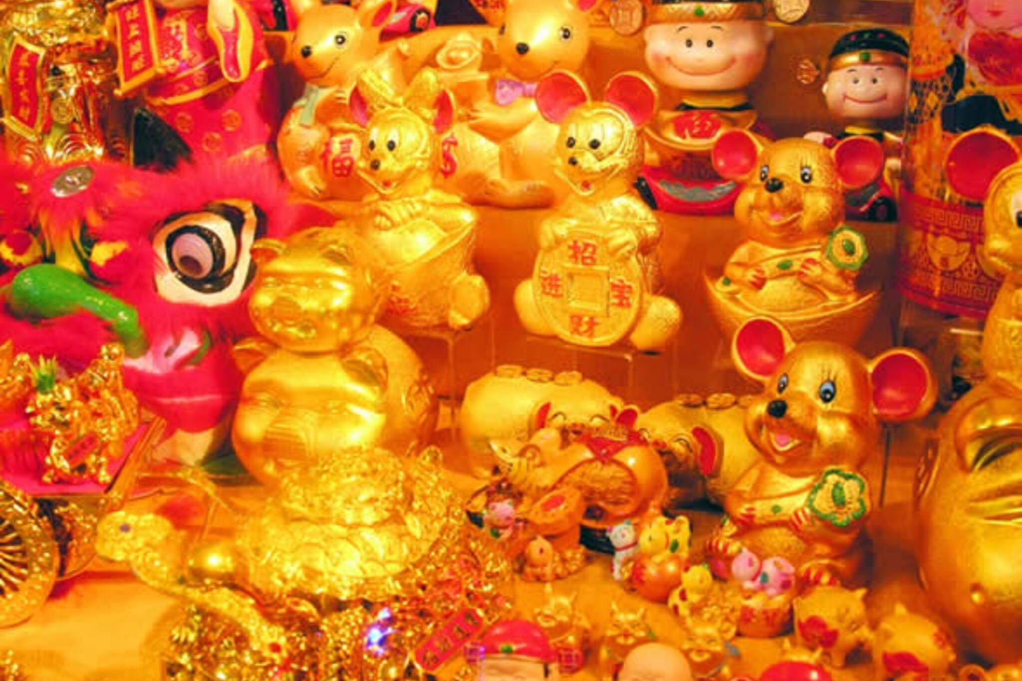 gold for chinese new year