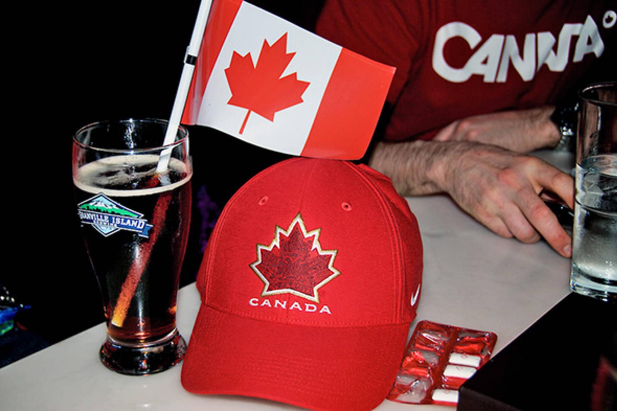 toronto bars 7am Olympic Hockey