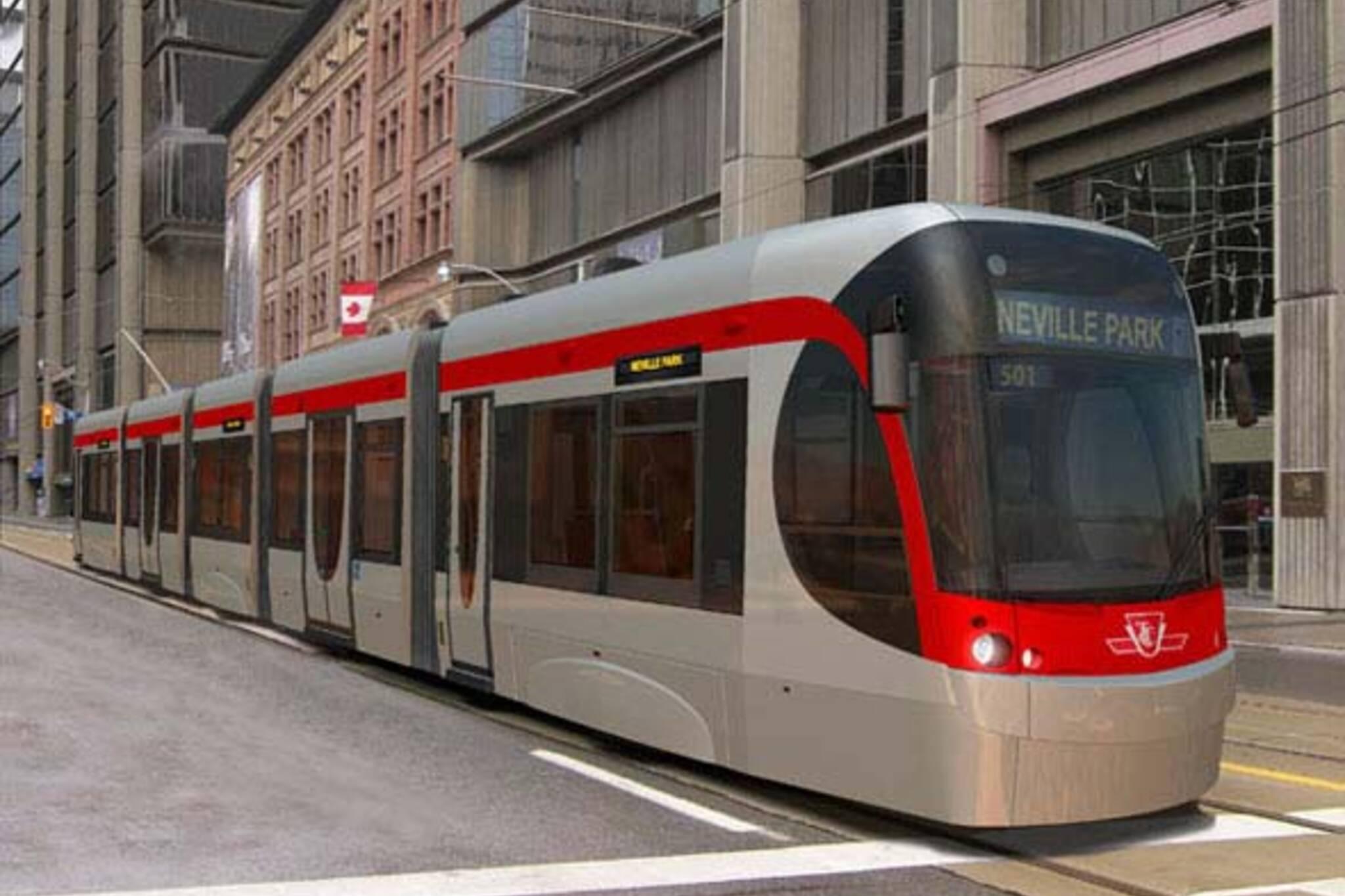 ttc New Bombardier Streetcars