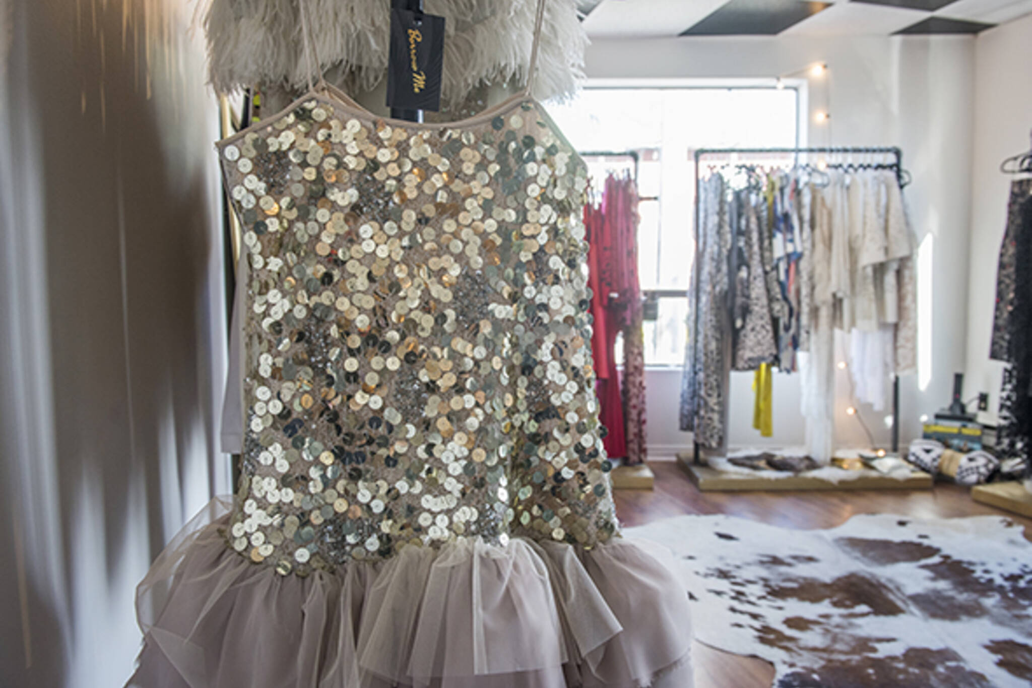 Rent designer dresses for cheap at new Toronto studio
