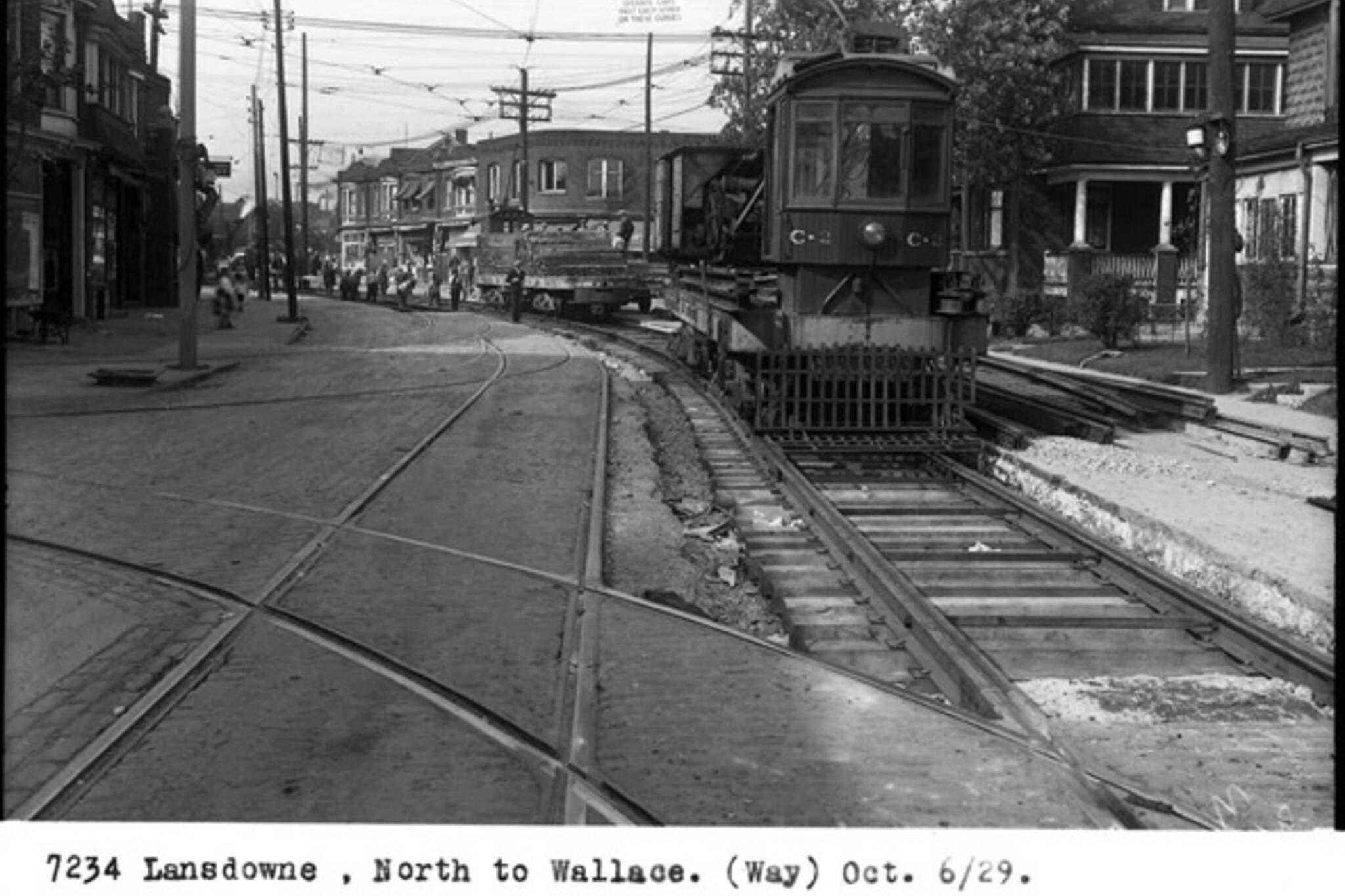 Lansdowne Avenue History Toronto