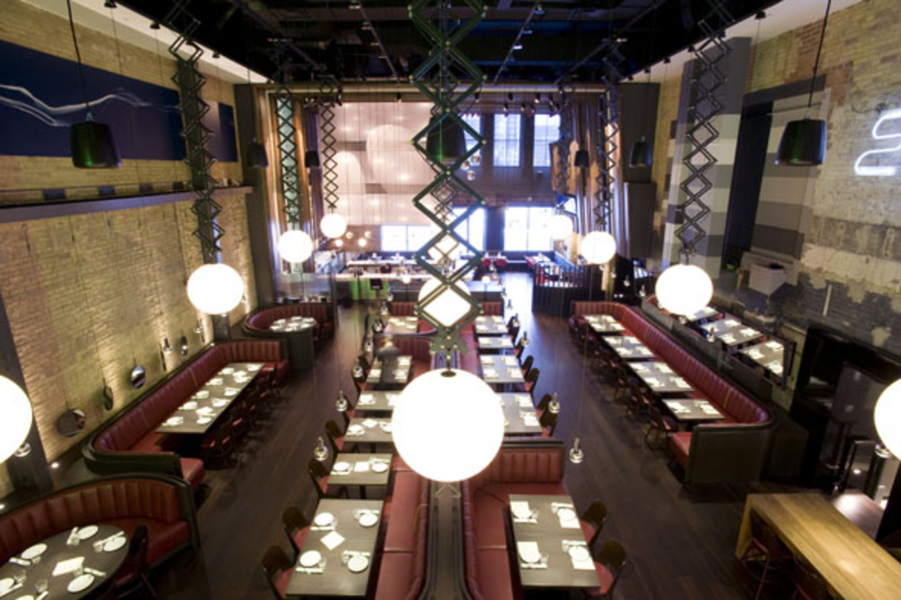 Stunning restaurant opens in old Electric Circus space