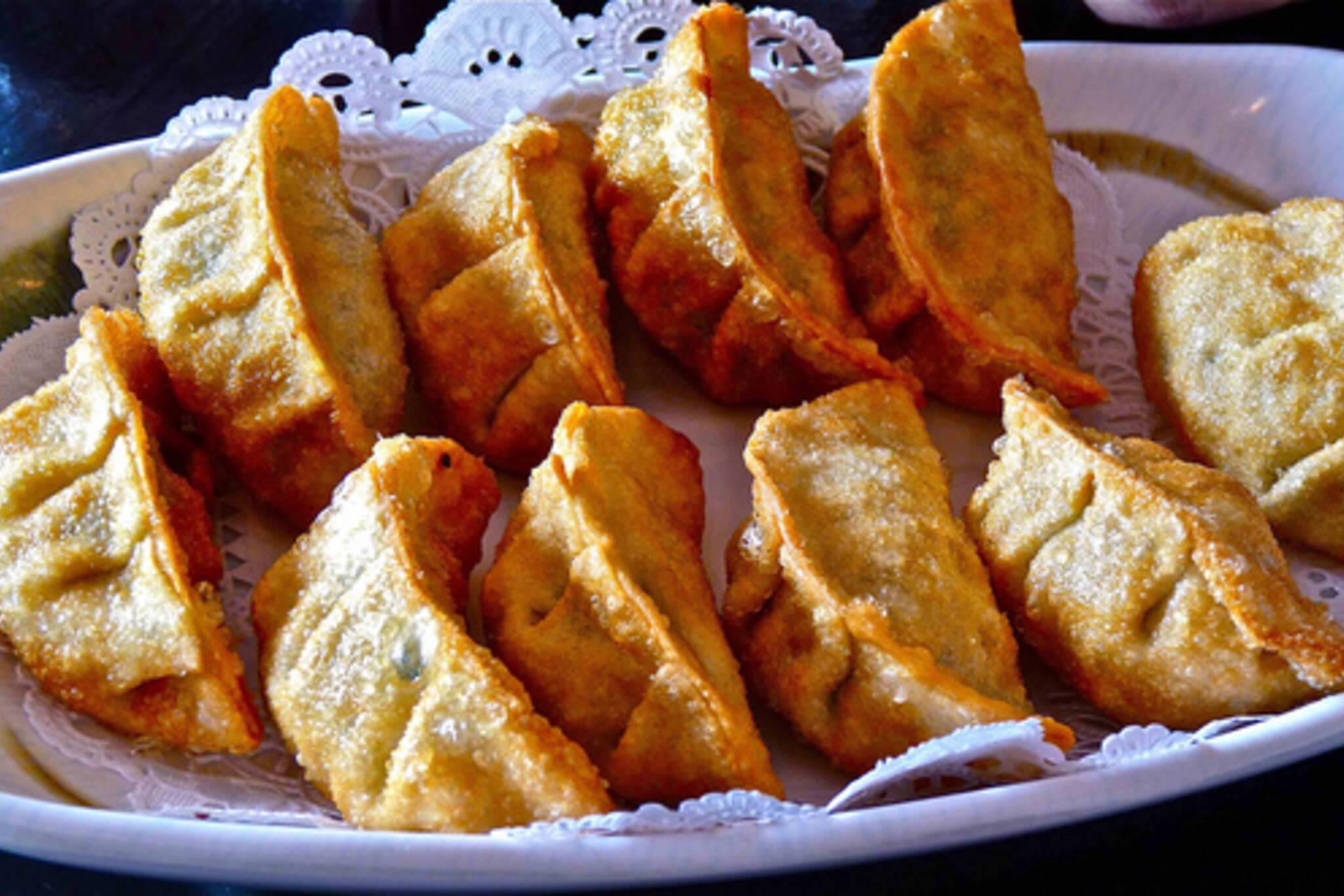 Korean Fried Dumplings