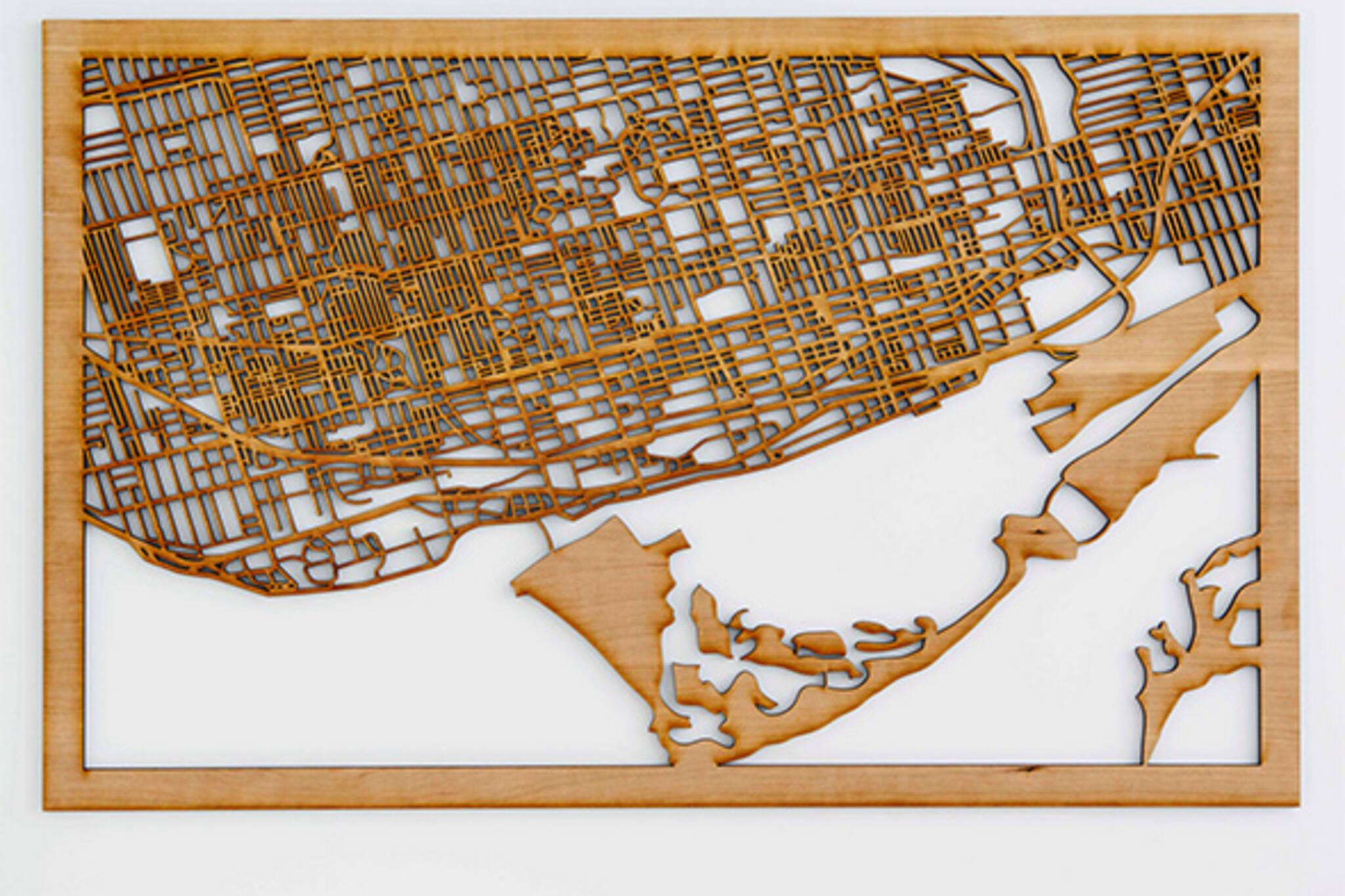 wood map toronto