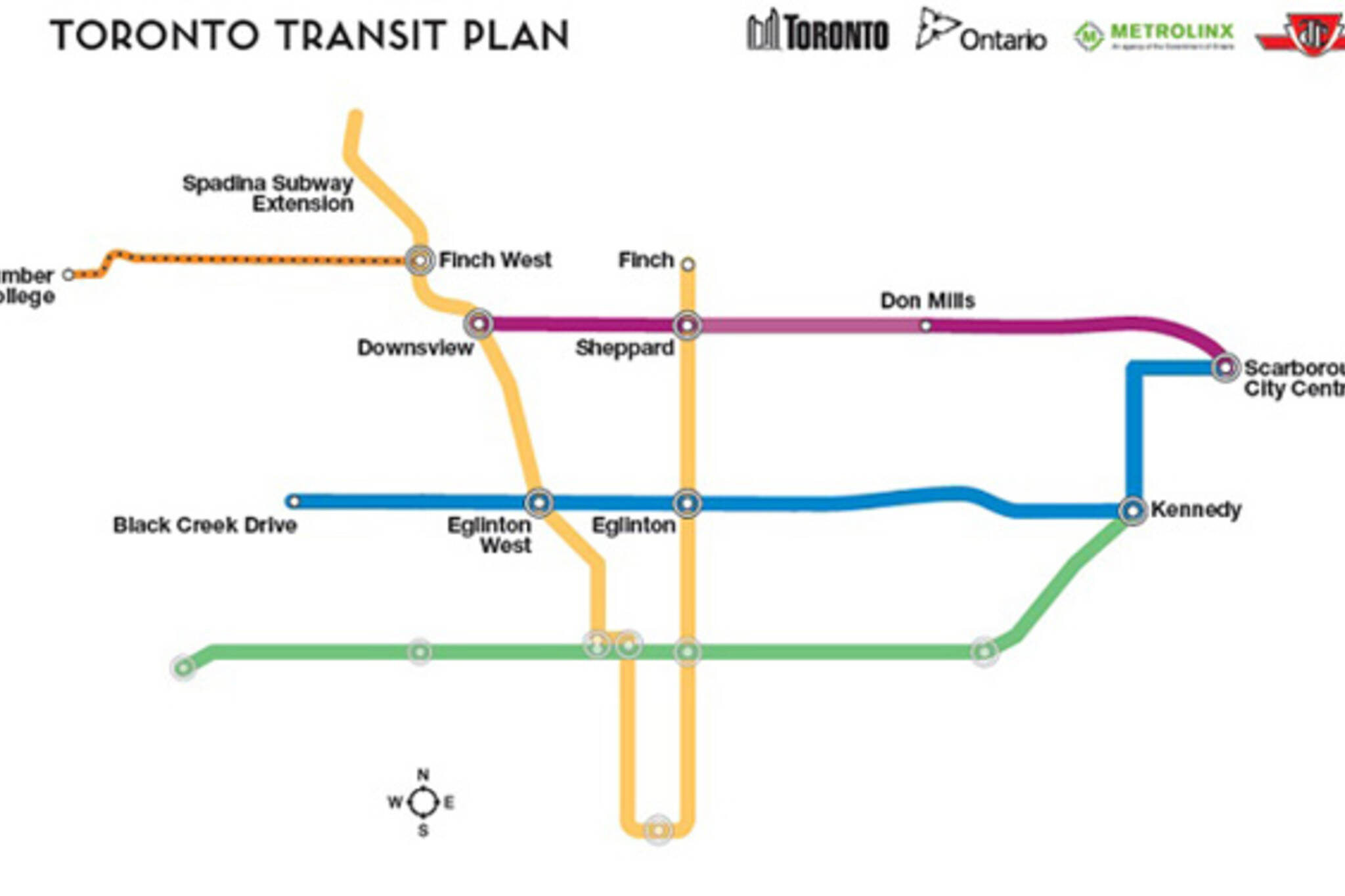 Toronto Transit Plans Poll Divided
