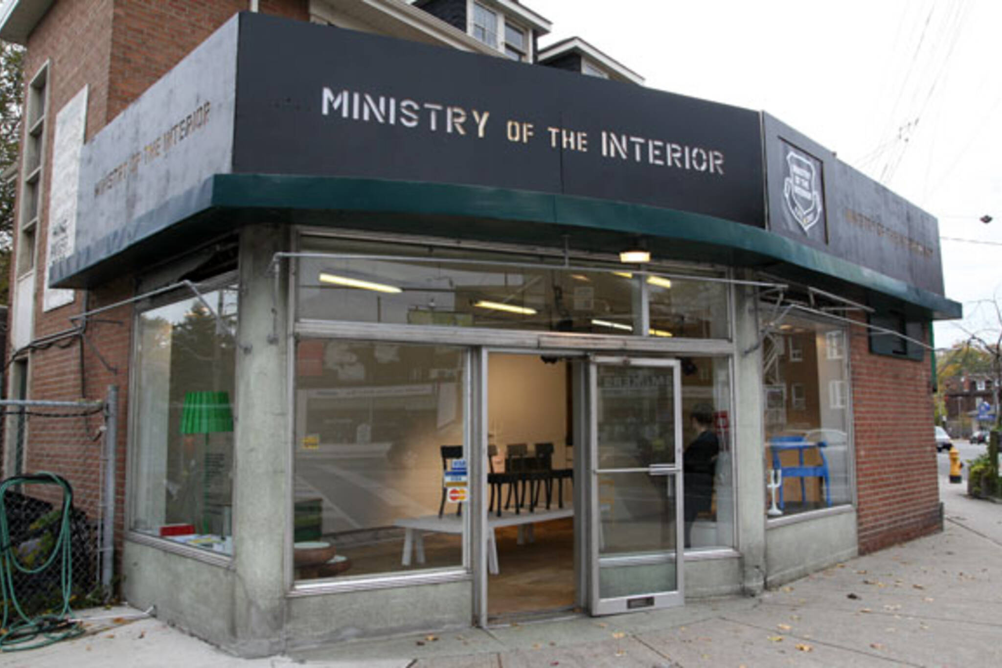 Ministry of the Interior Pop Up Store