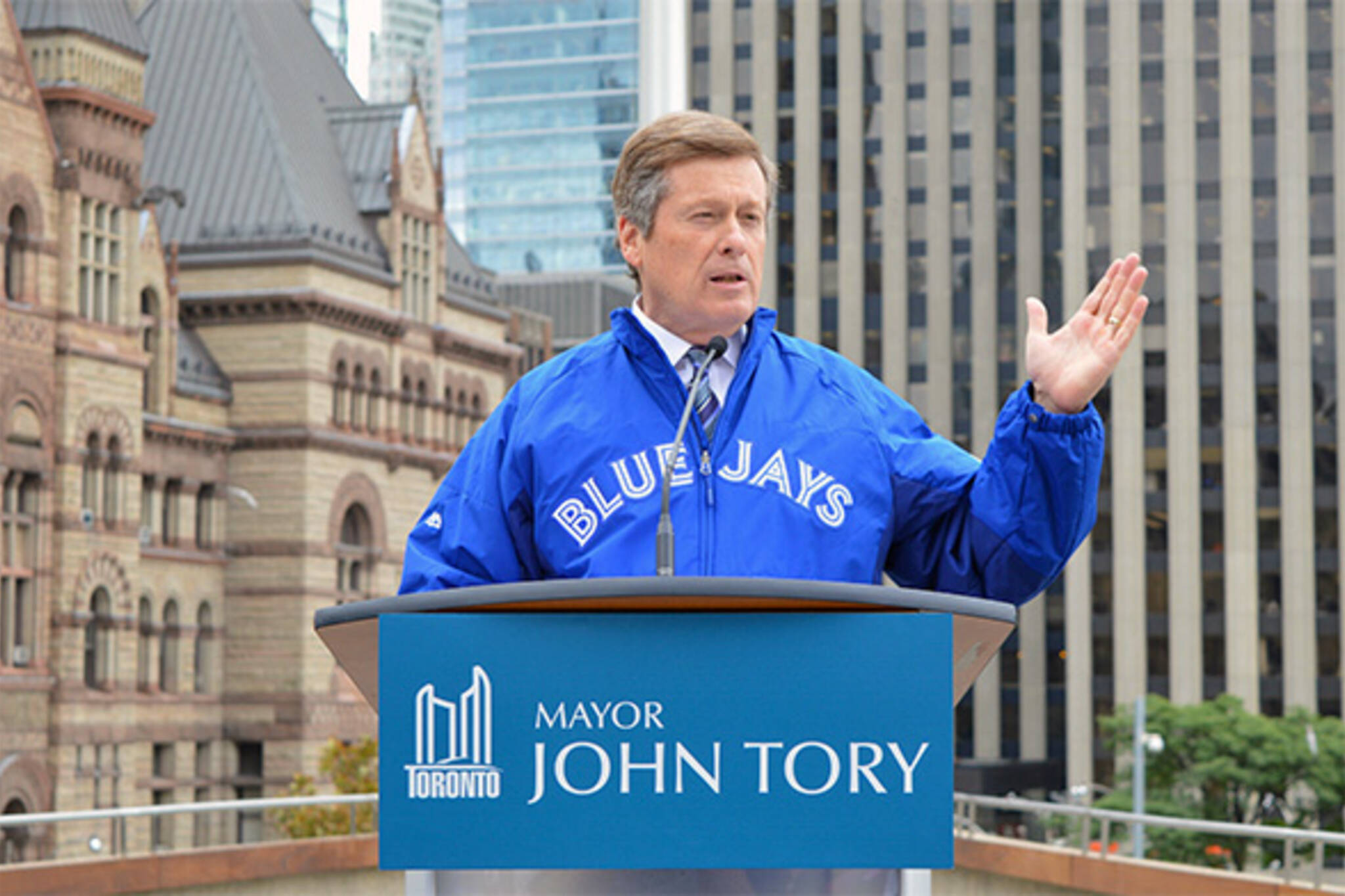 Blue Jays city hall