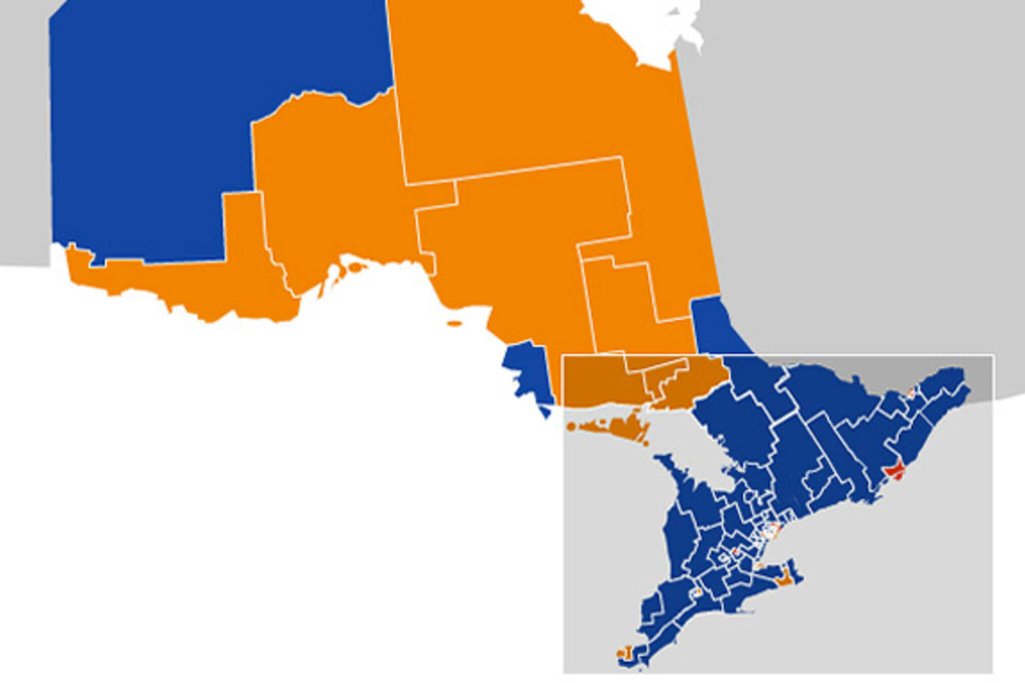 2011 Federal Election Maps