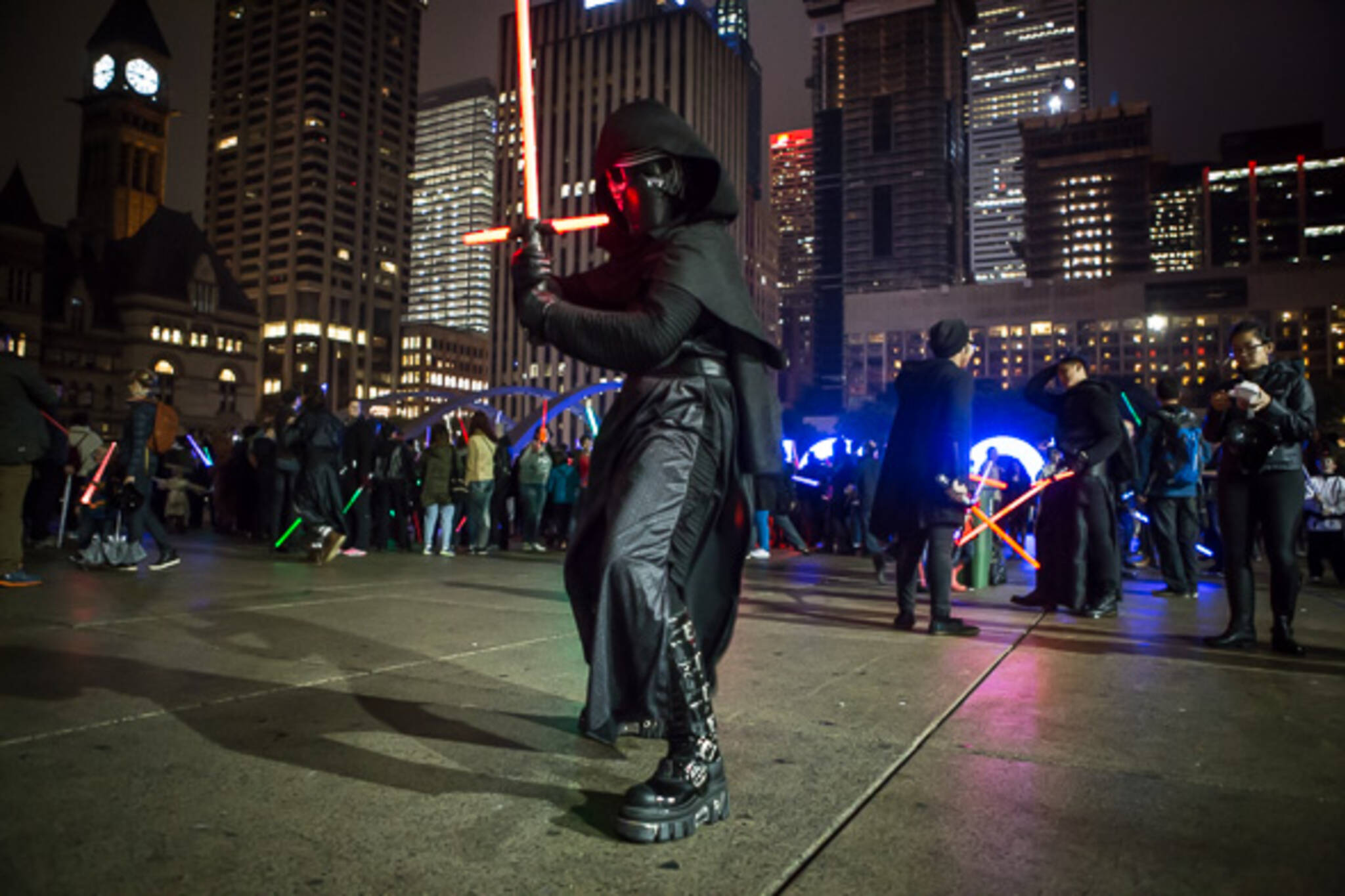 lightsaber battle toronto