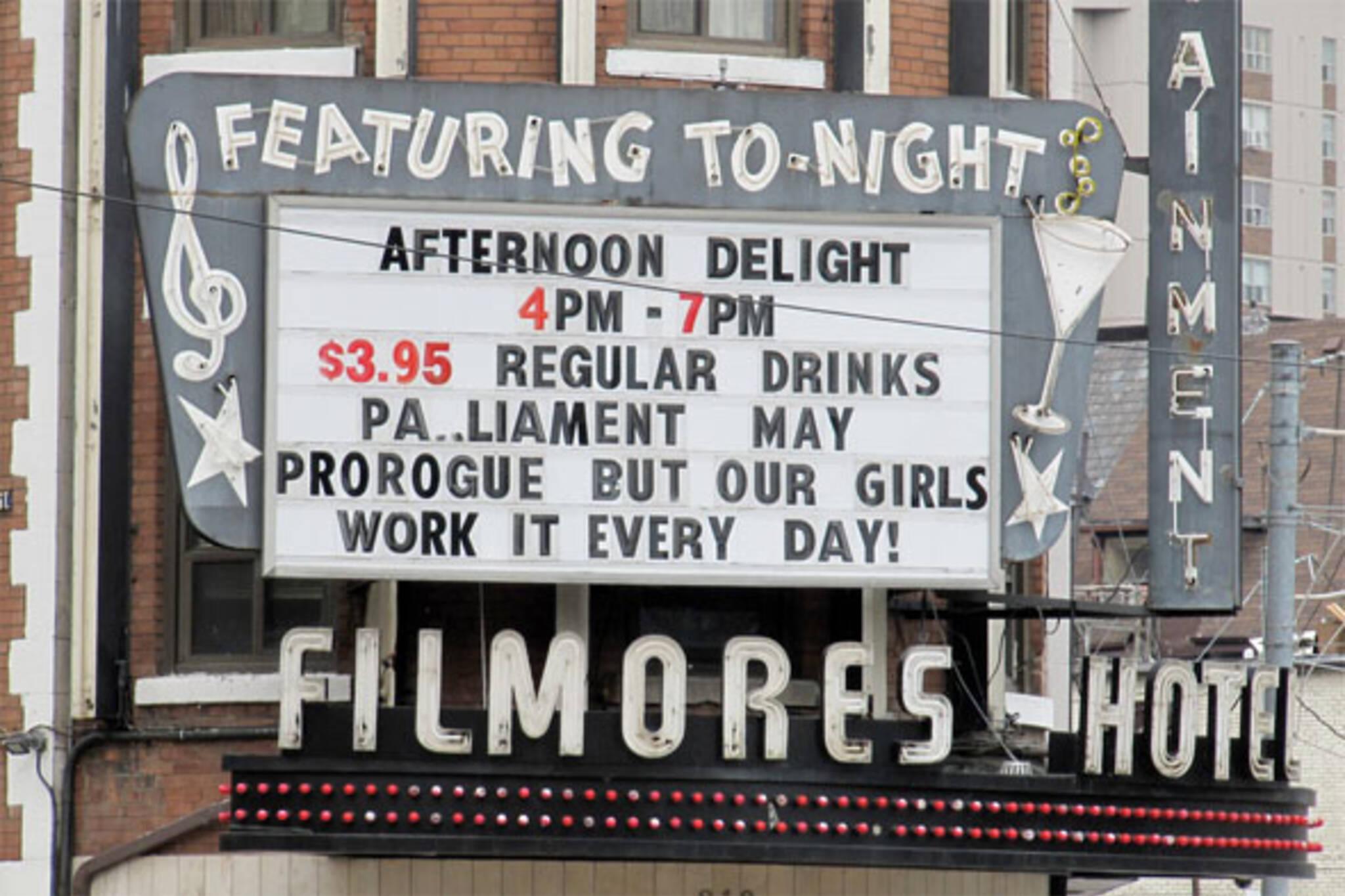 filmore's hotel
