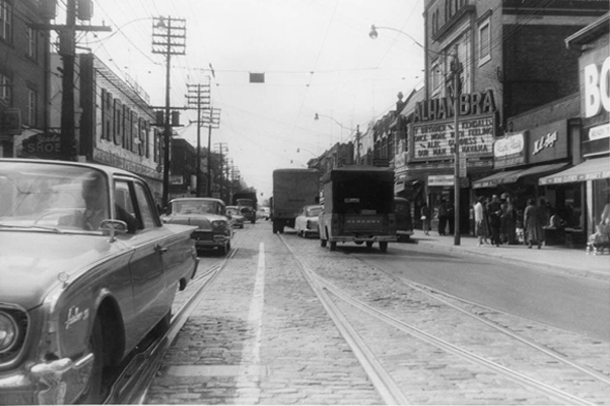 Annex Toronto, 1950s