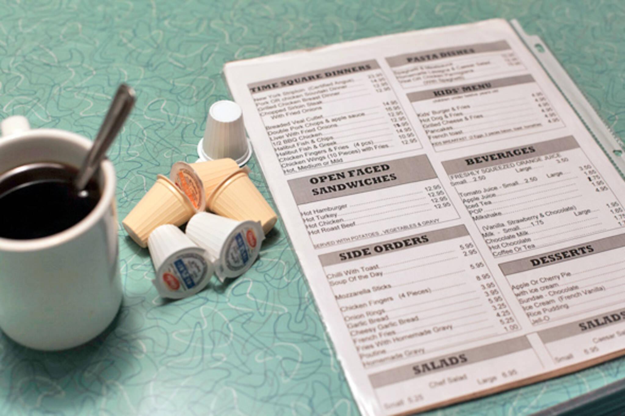 toronto menus