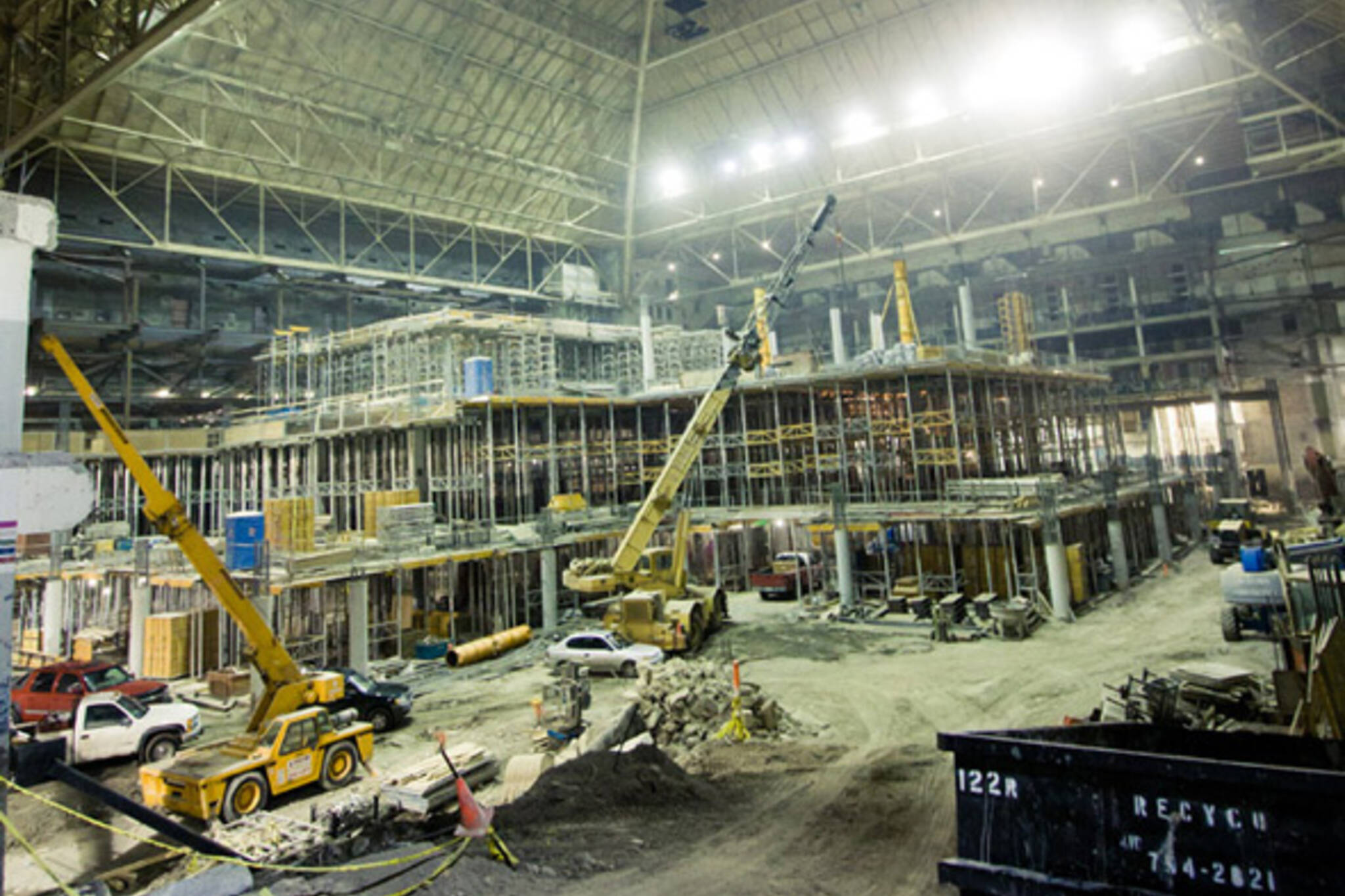Maple Leaf Gardens Construction