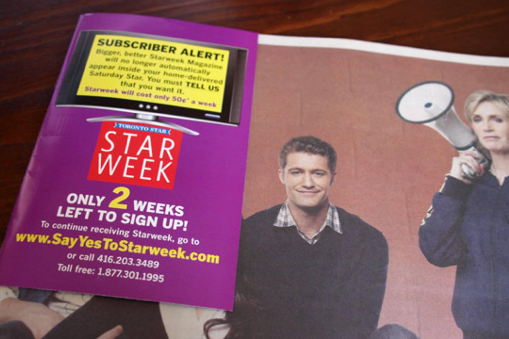starweek toronto star