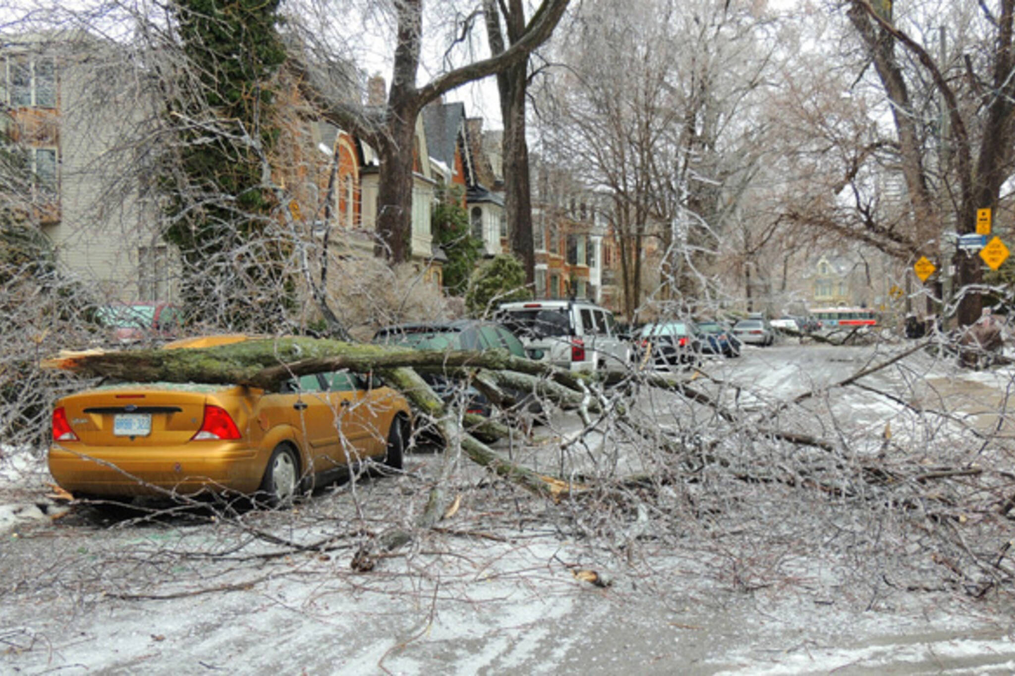20 frozen photos of the ice storm aftermath in Toronto