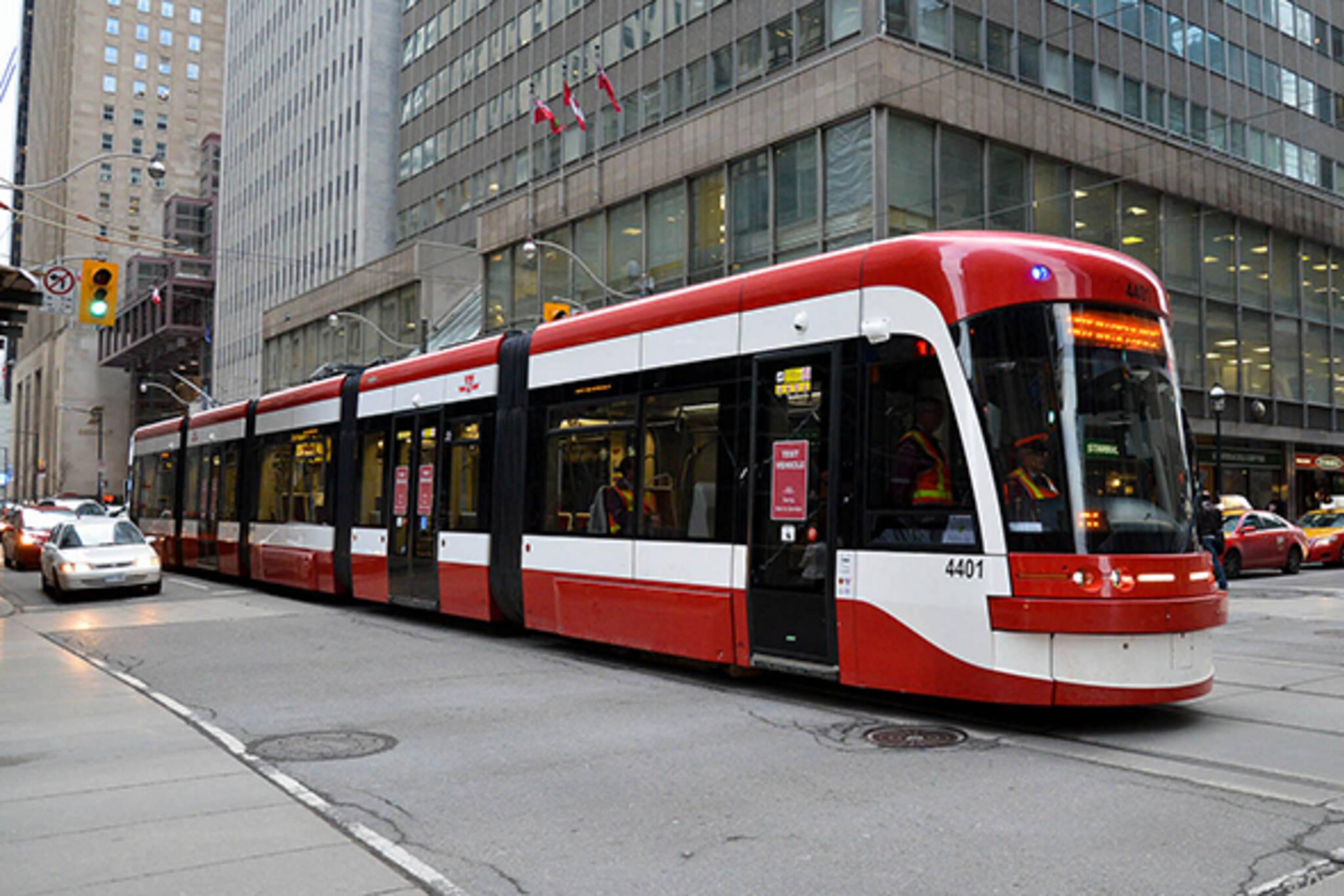 new streetcar ttc