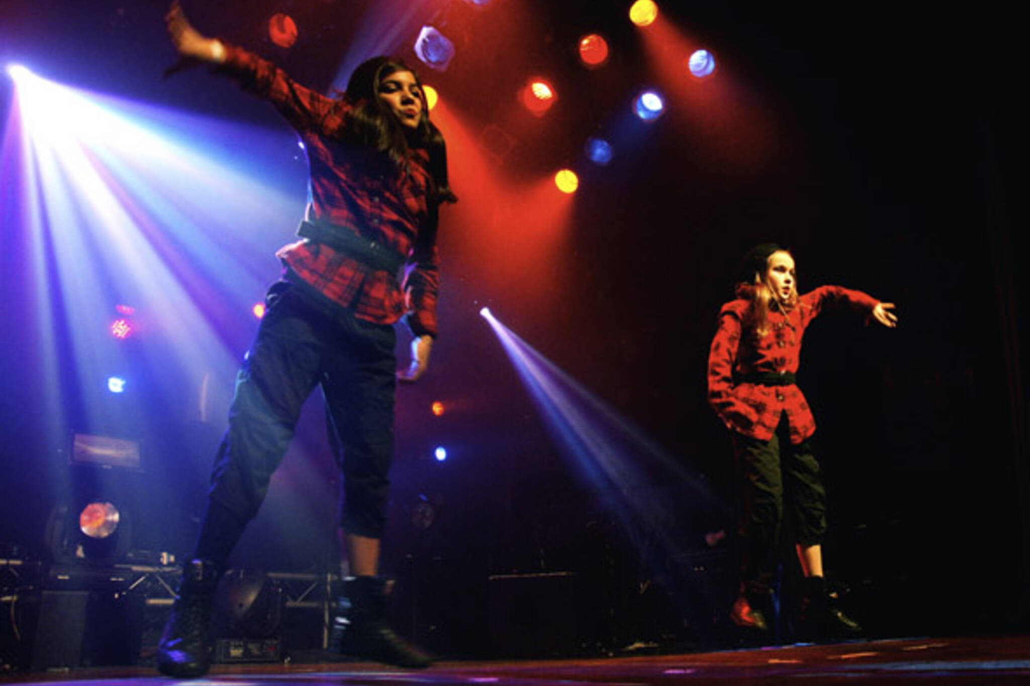 Choreographer's Ball performers, Tha Spot, on stage at The Mod Club Theatre in Toronto
