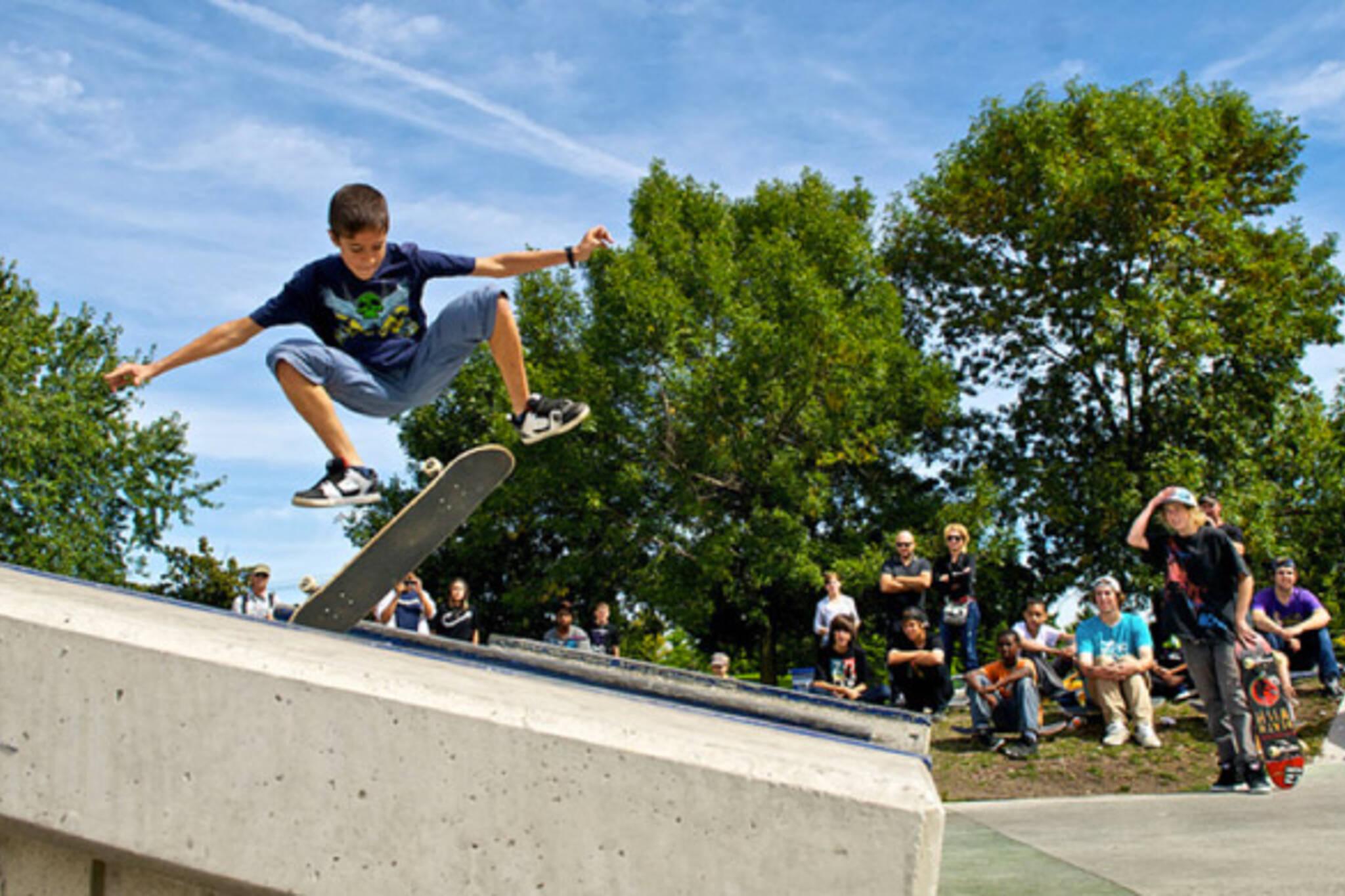 Skate park toronto