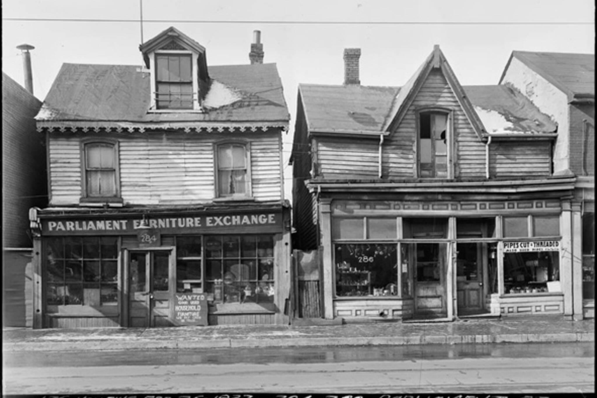 Parliament Street History Toronto