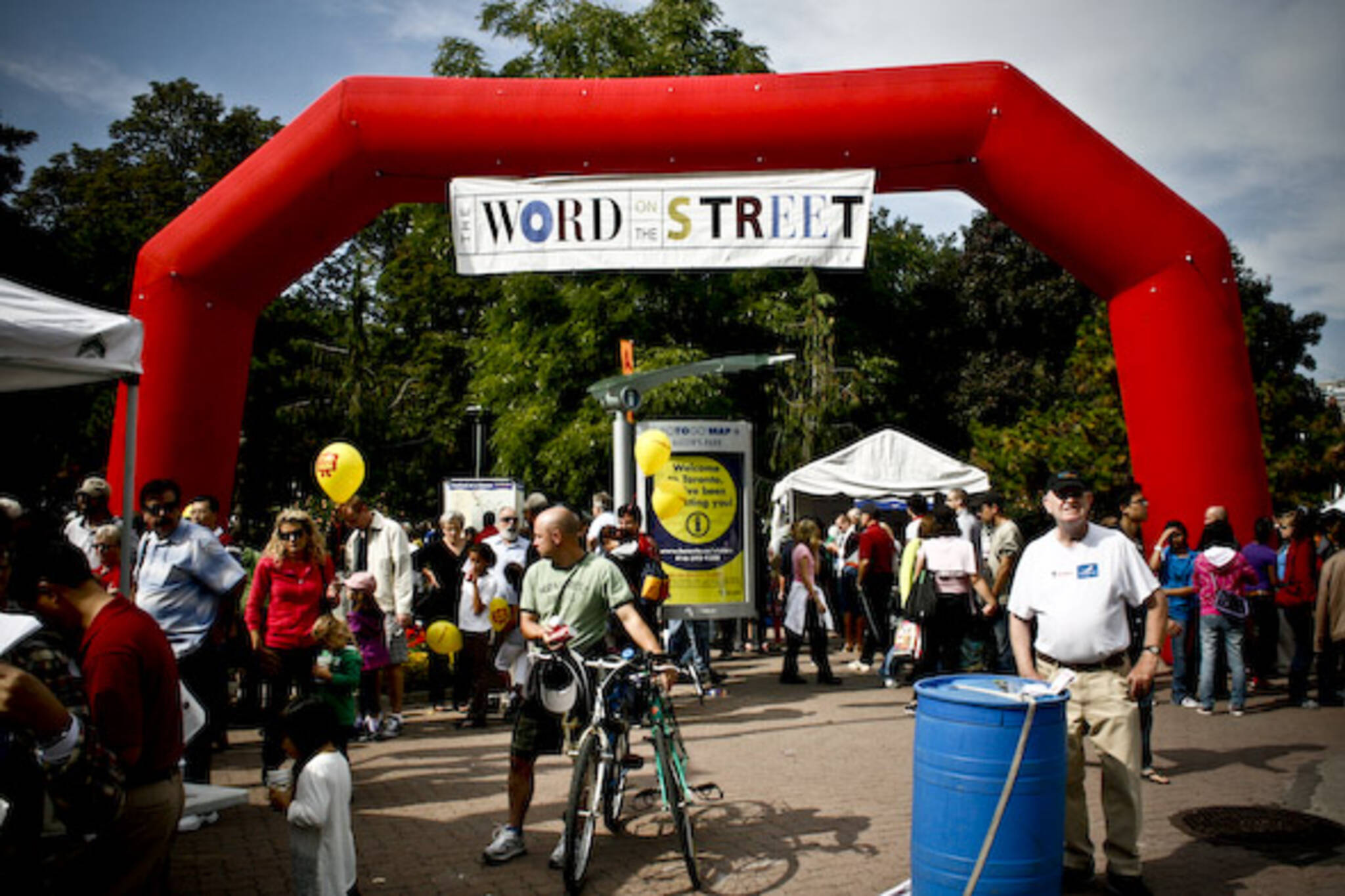Word on the Street Festival Toronto 2009