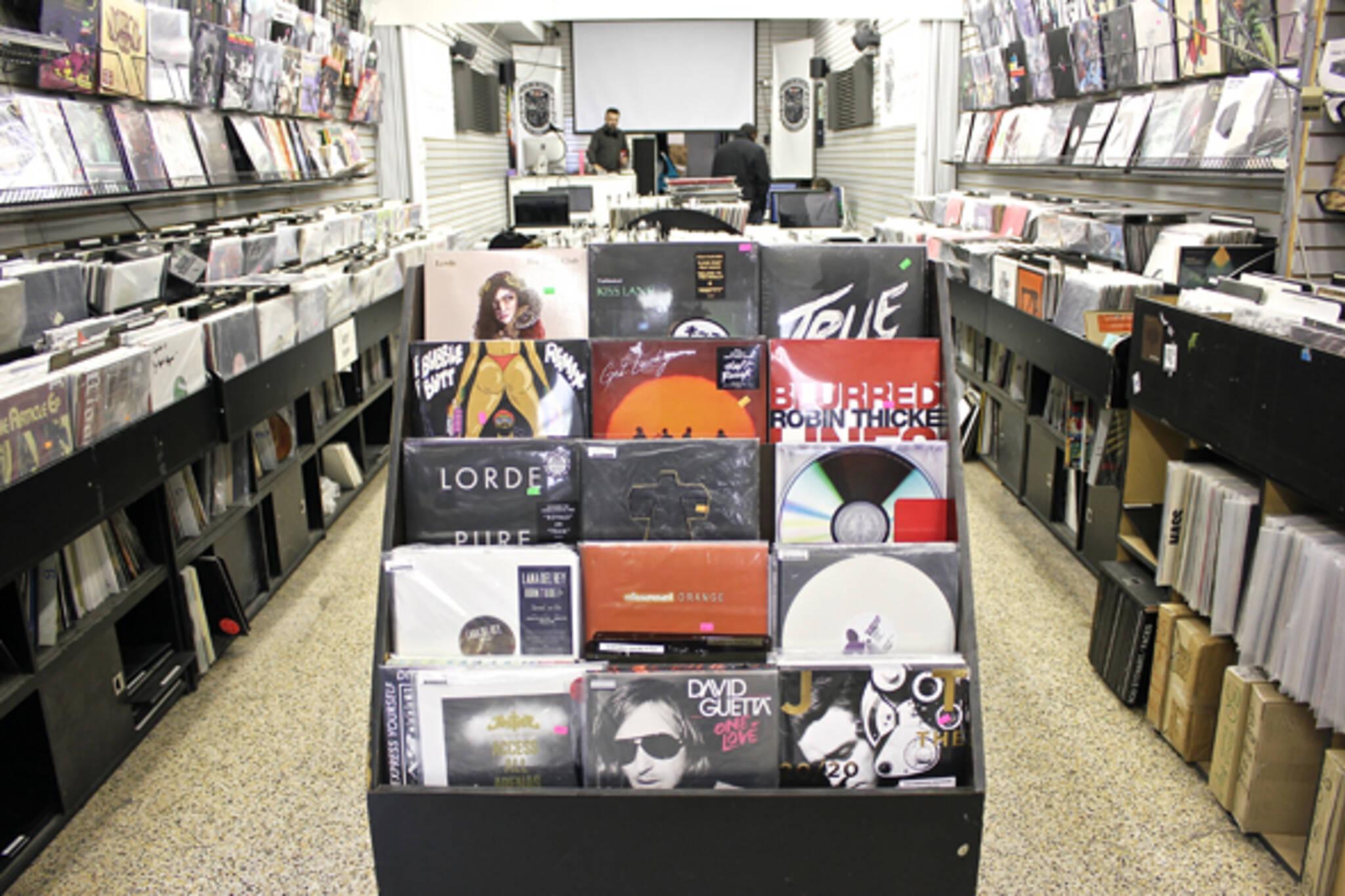 Record store toronto