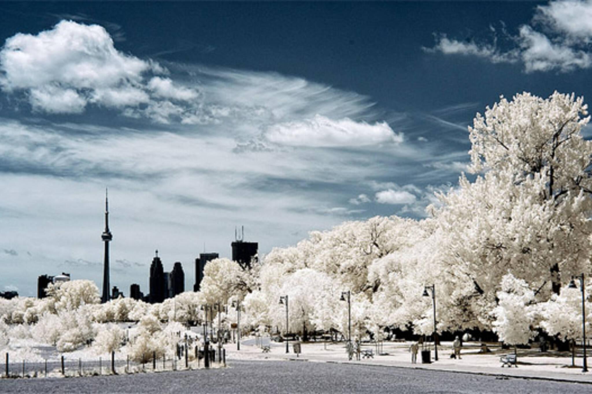 toronto infrared photos