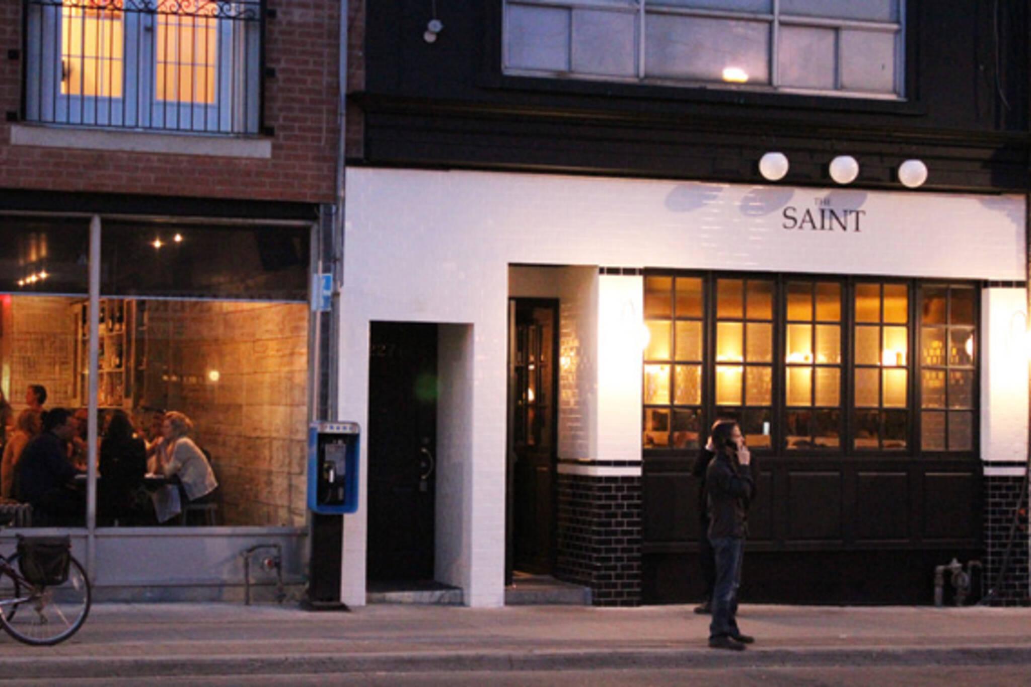 The Saint Restaurant Toronto