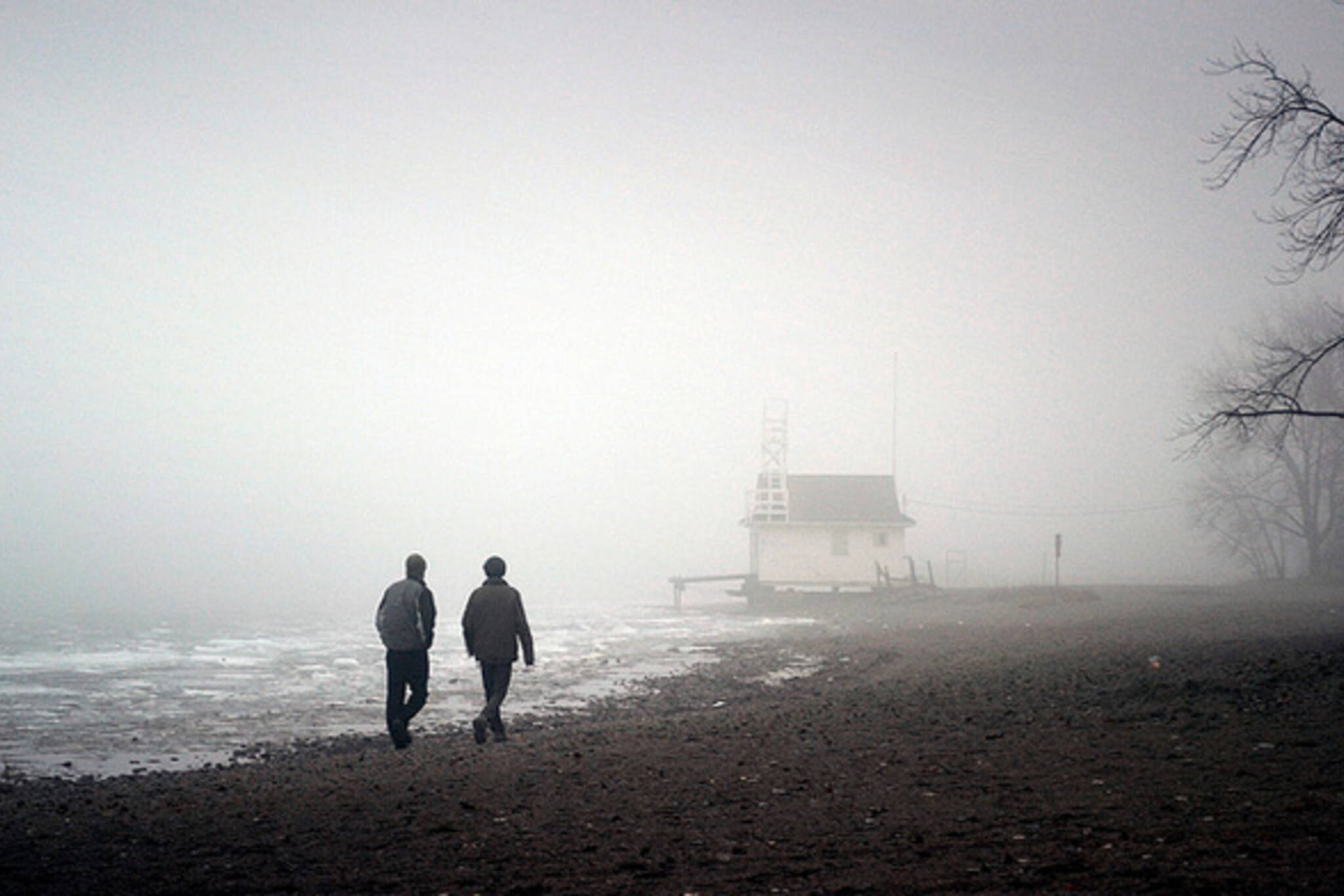 Winter Beach Toronto