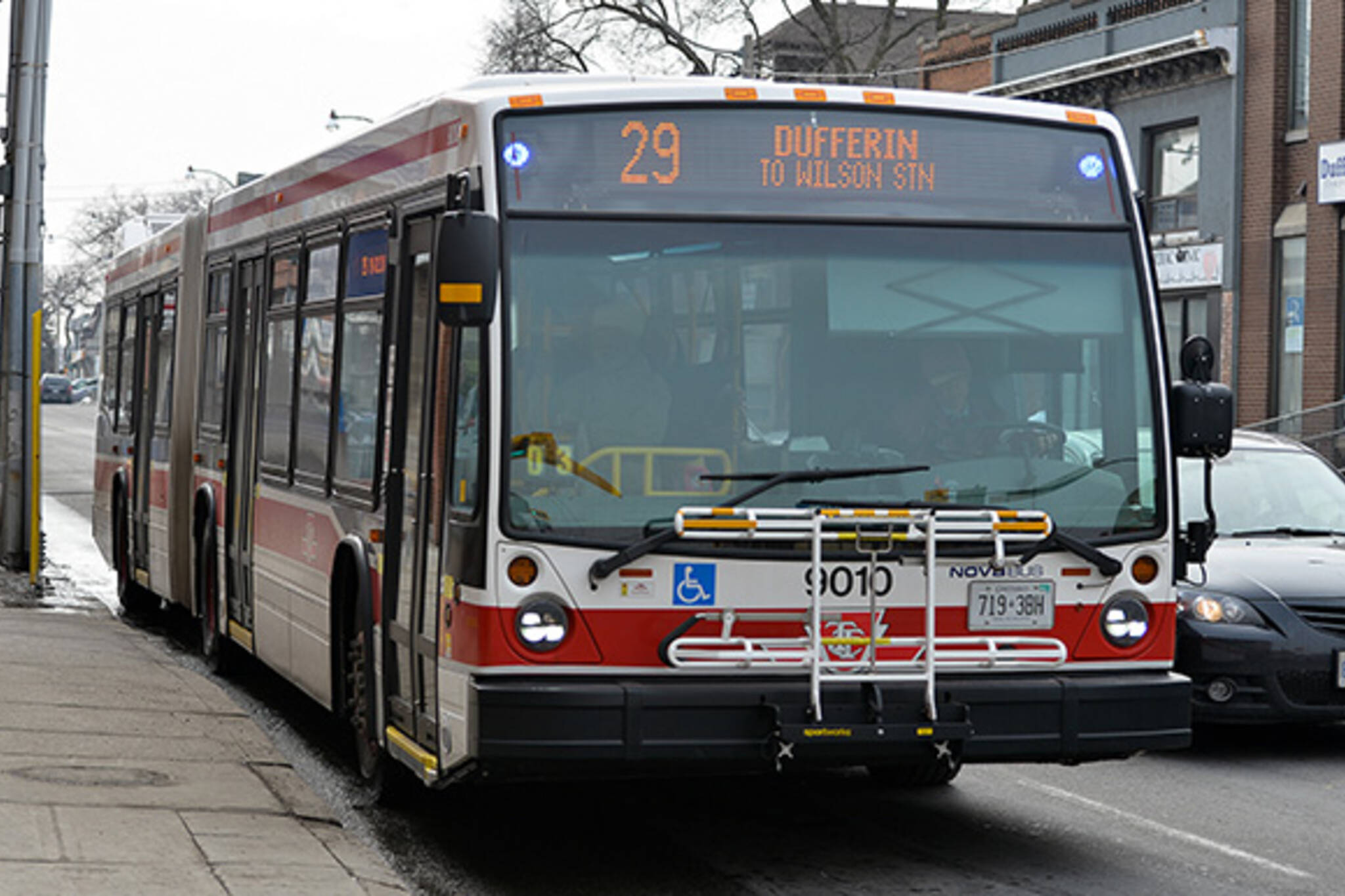 Express bus routes Toronto