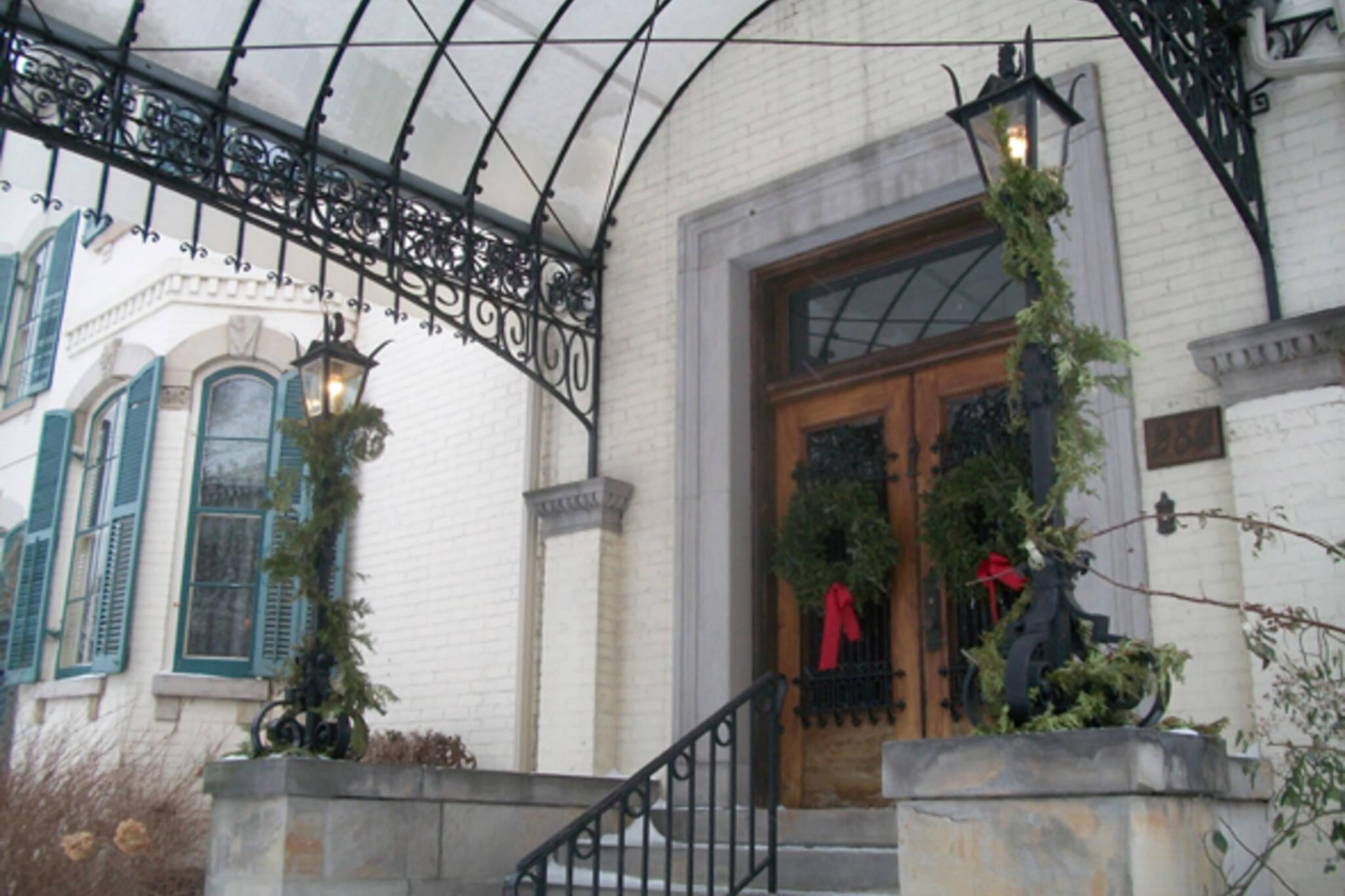 Toronto, 1920s, Christmas, the Austins, Spadina Museum: Historic House and Gardens
