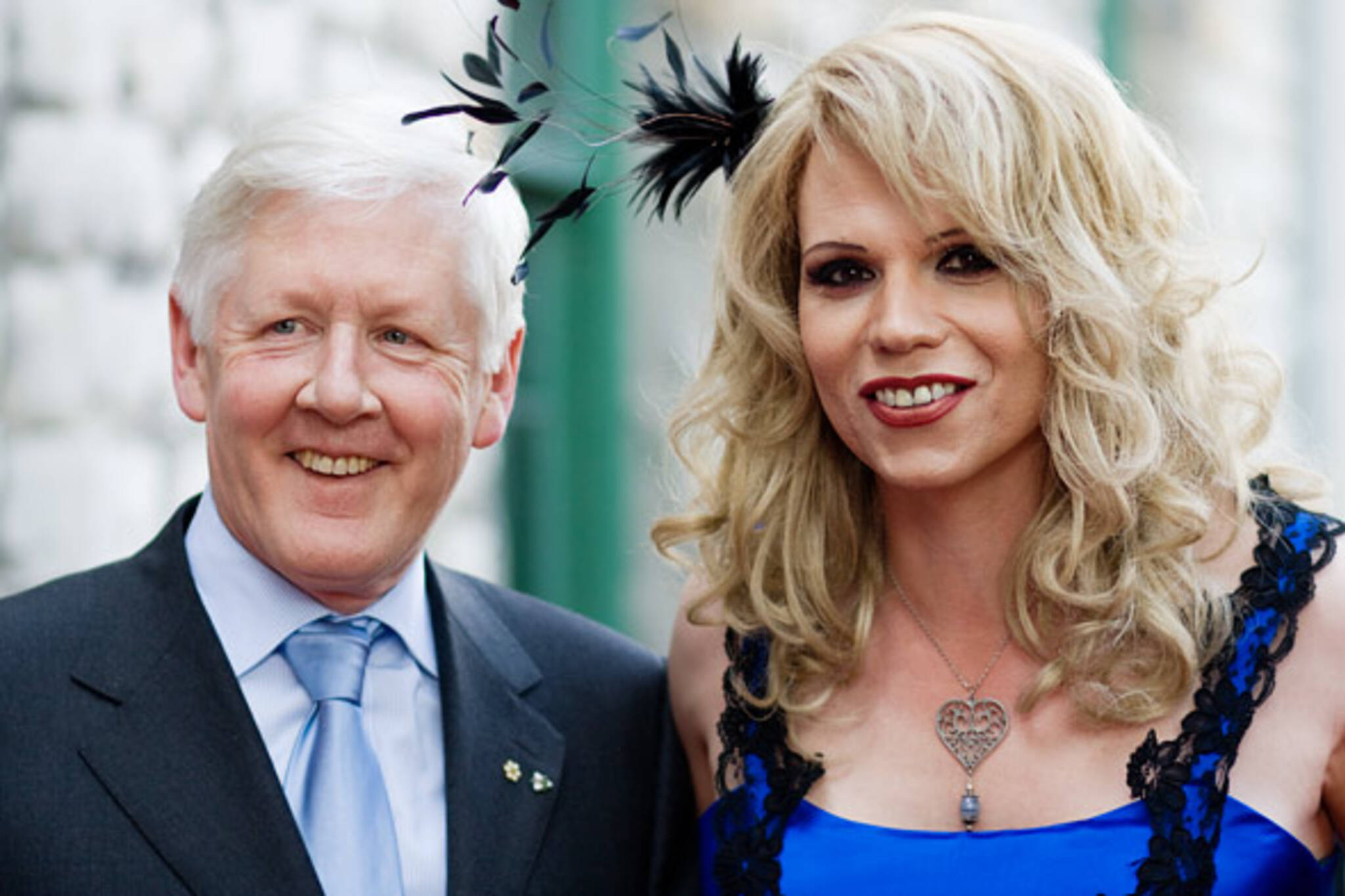 Bob Rae and Enza Supermodel at Pride Toronto's 4th Annual Gala and Awards